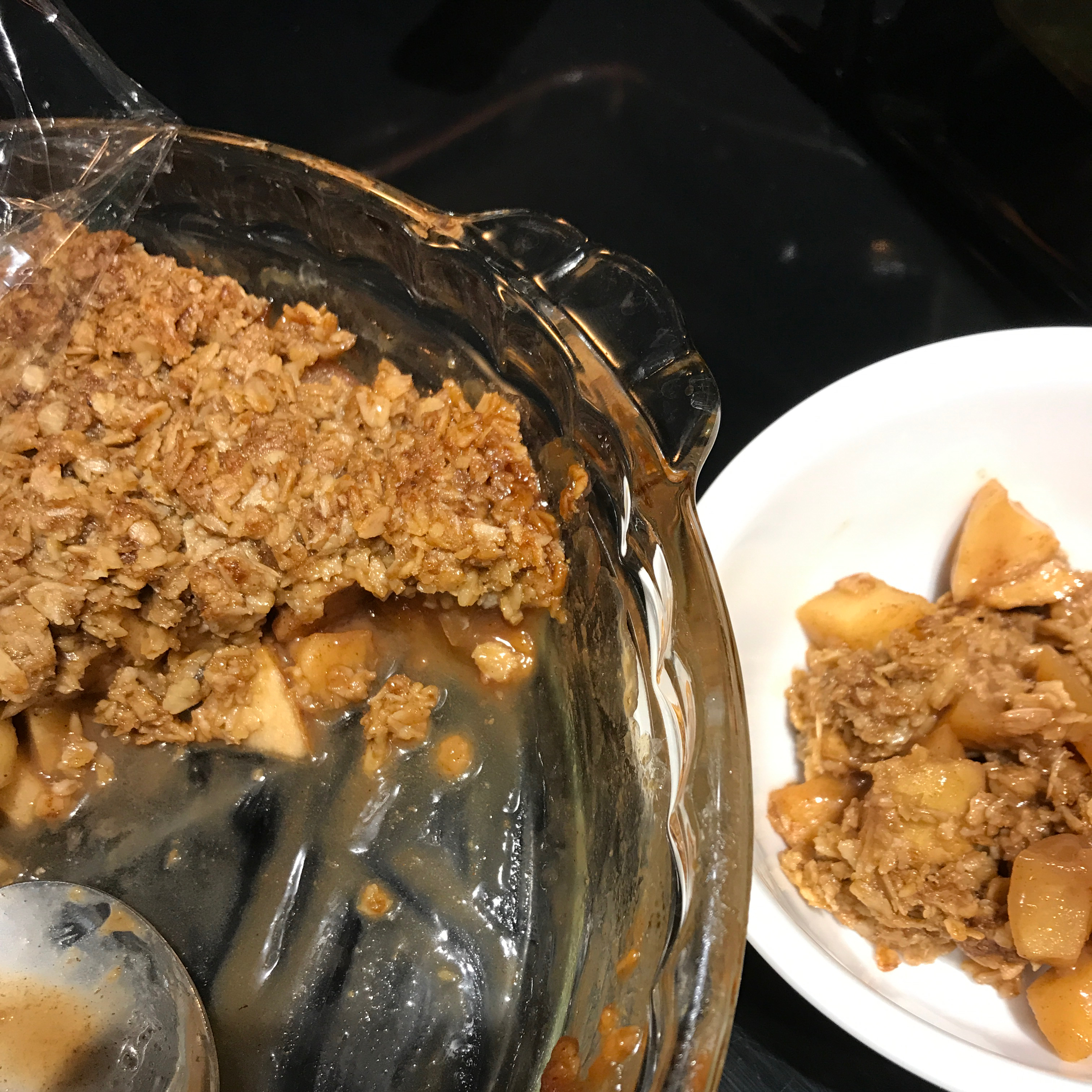 Simple Flourless Apple Crisp ummbutter