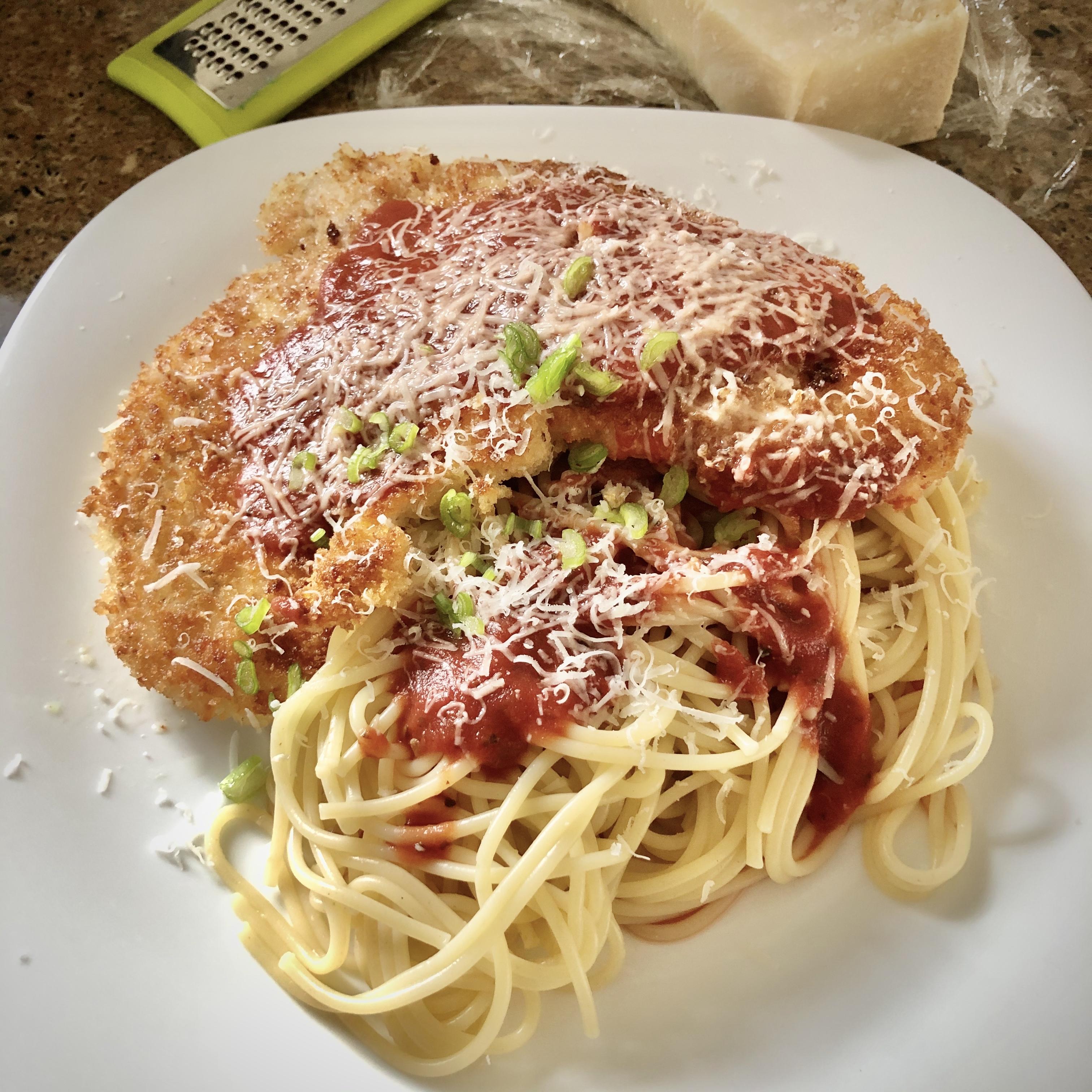 A 20-Minute Chicken Parmesan
