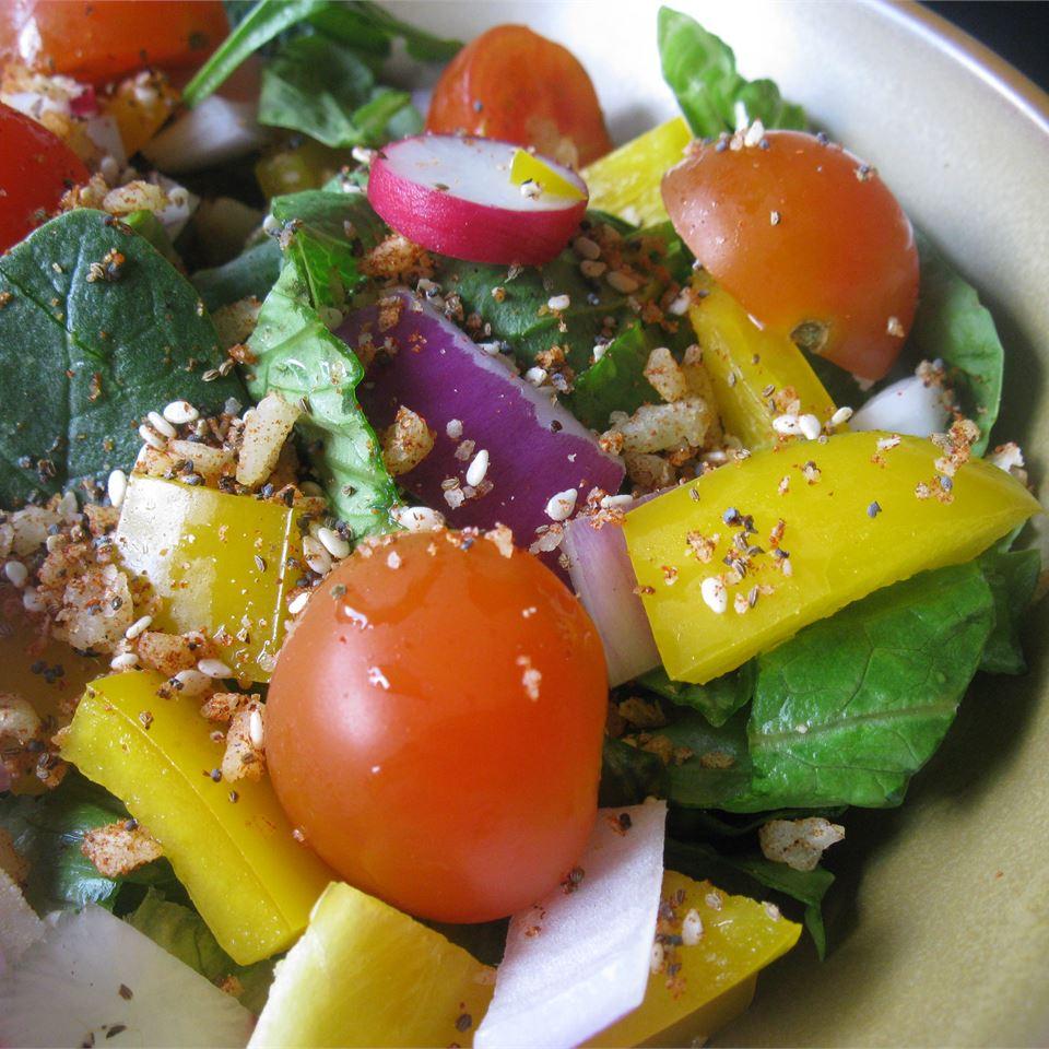 Tasty Salad Seasoning mommyluvs2cook