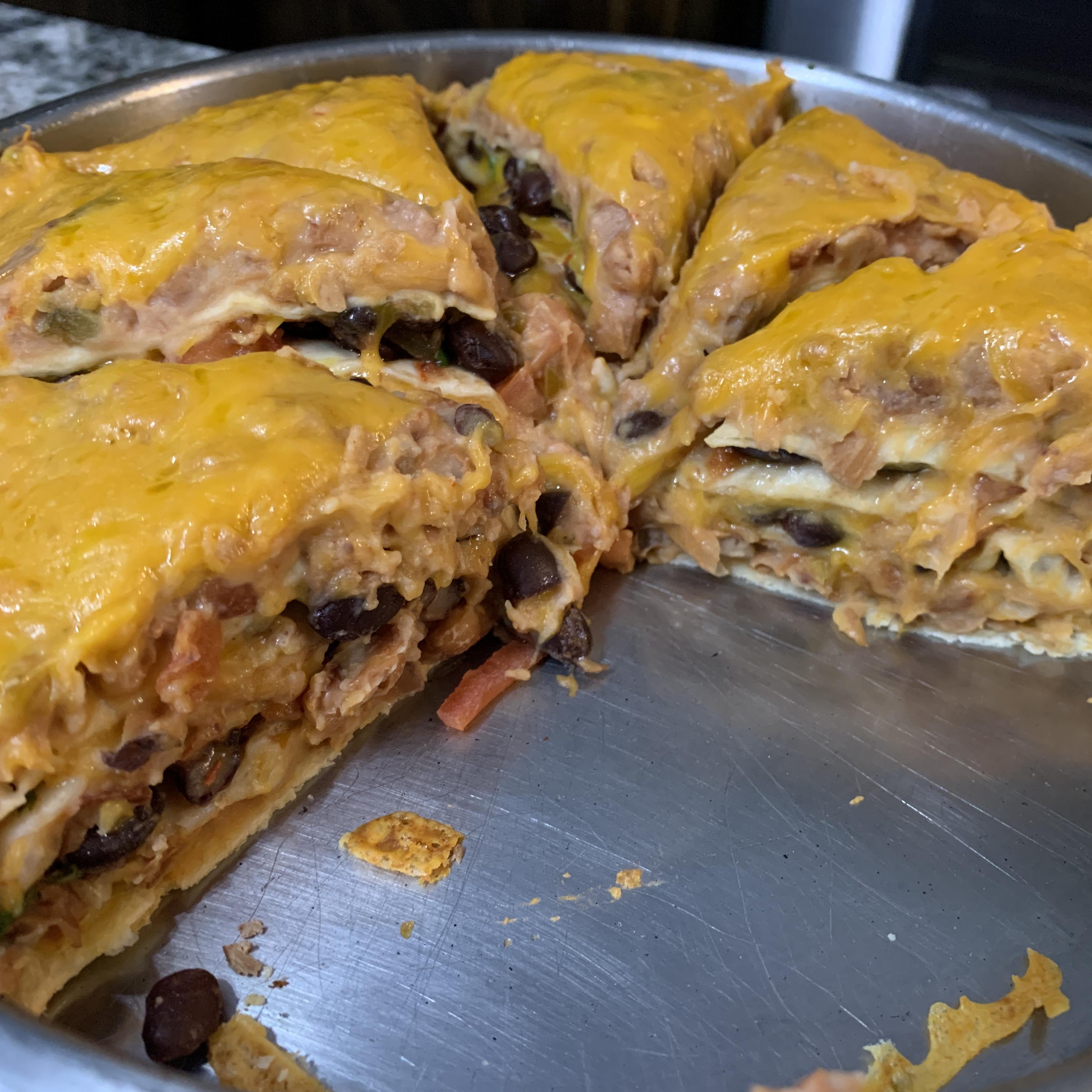 Seven Layer Tortilla Pie Stanley L. Yurth