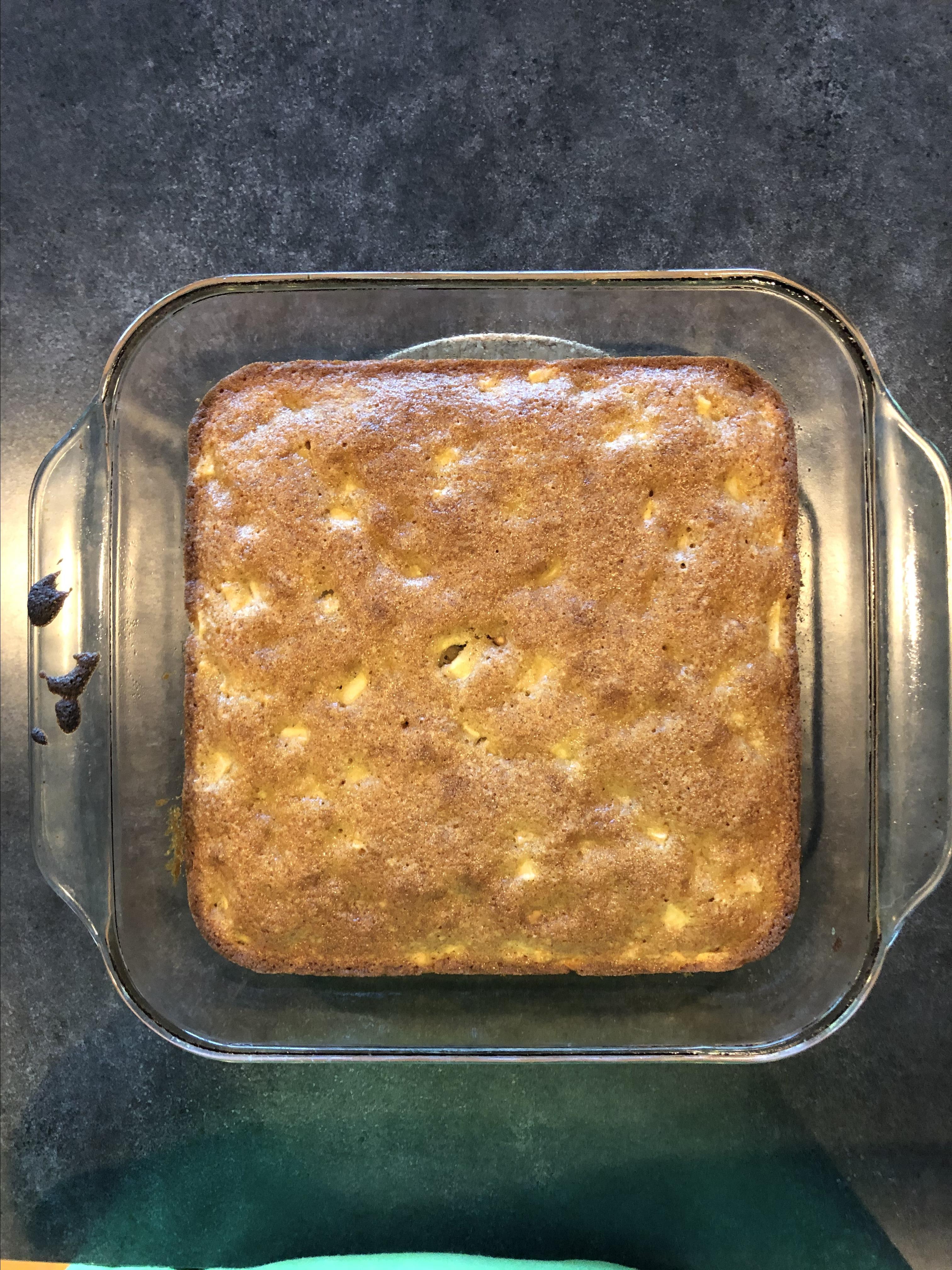 Apple Peanut Butter Cake Eleni
