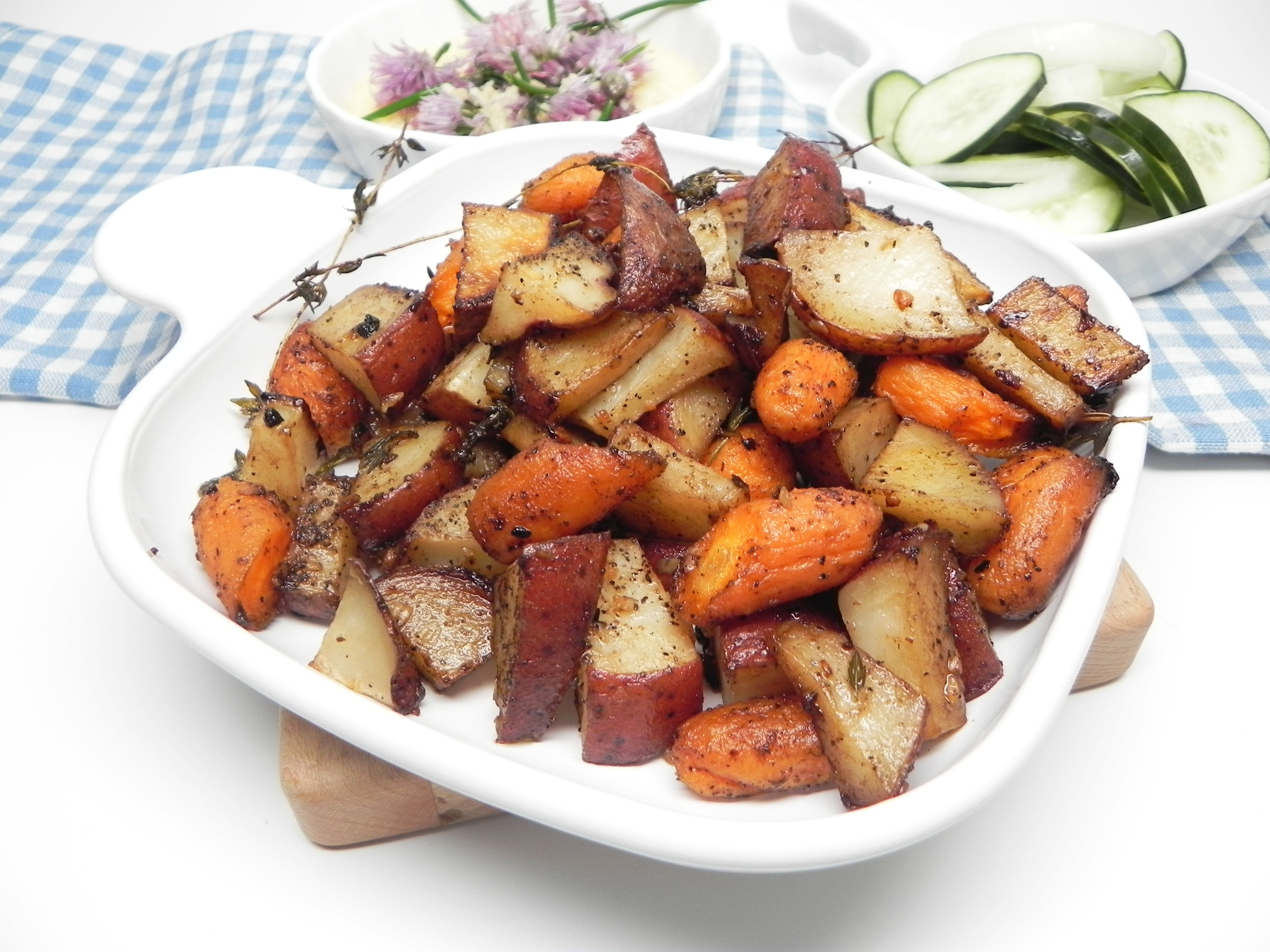 Balsamic-Roasted Vegetables