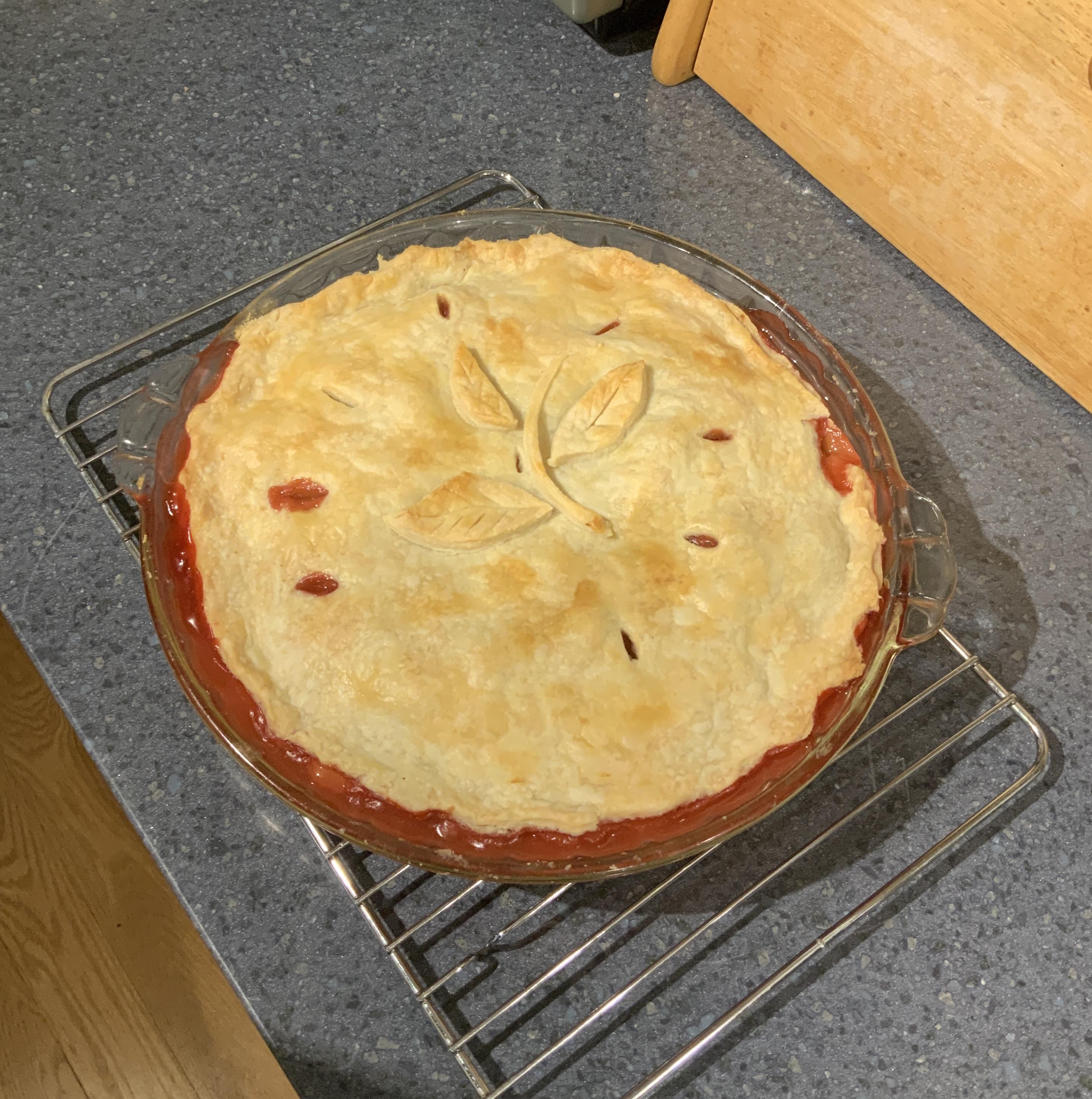 Classic Lard Two-Crust Pie Pastry