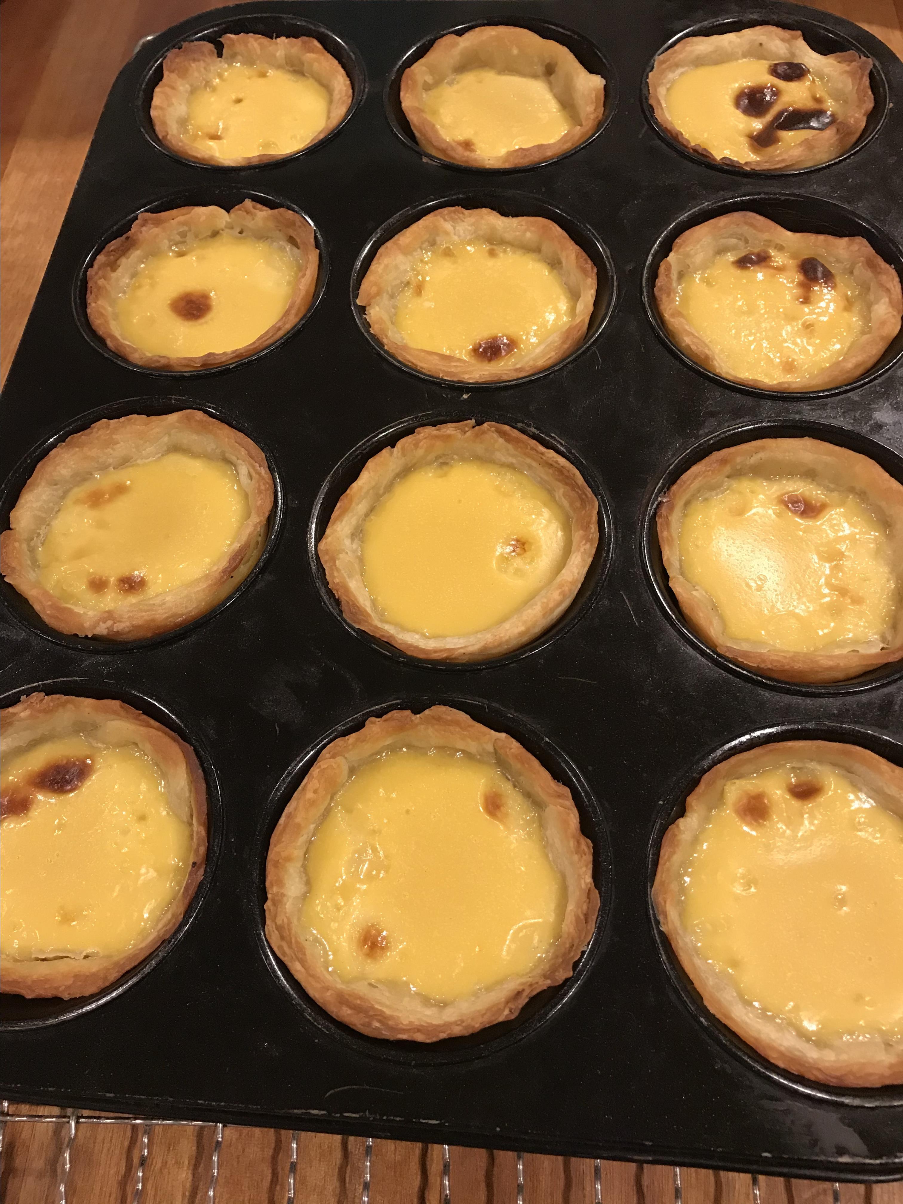 Portuguese Custard Tarts (Pasteis de Nata)