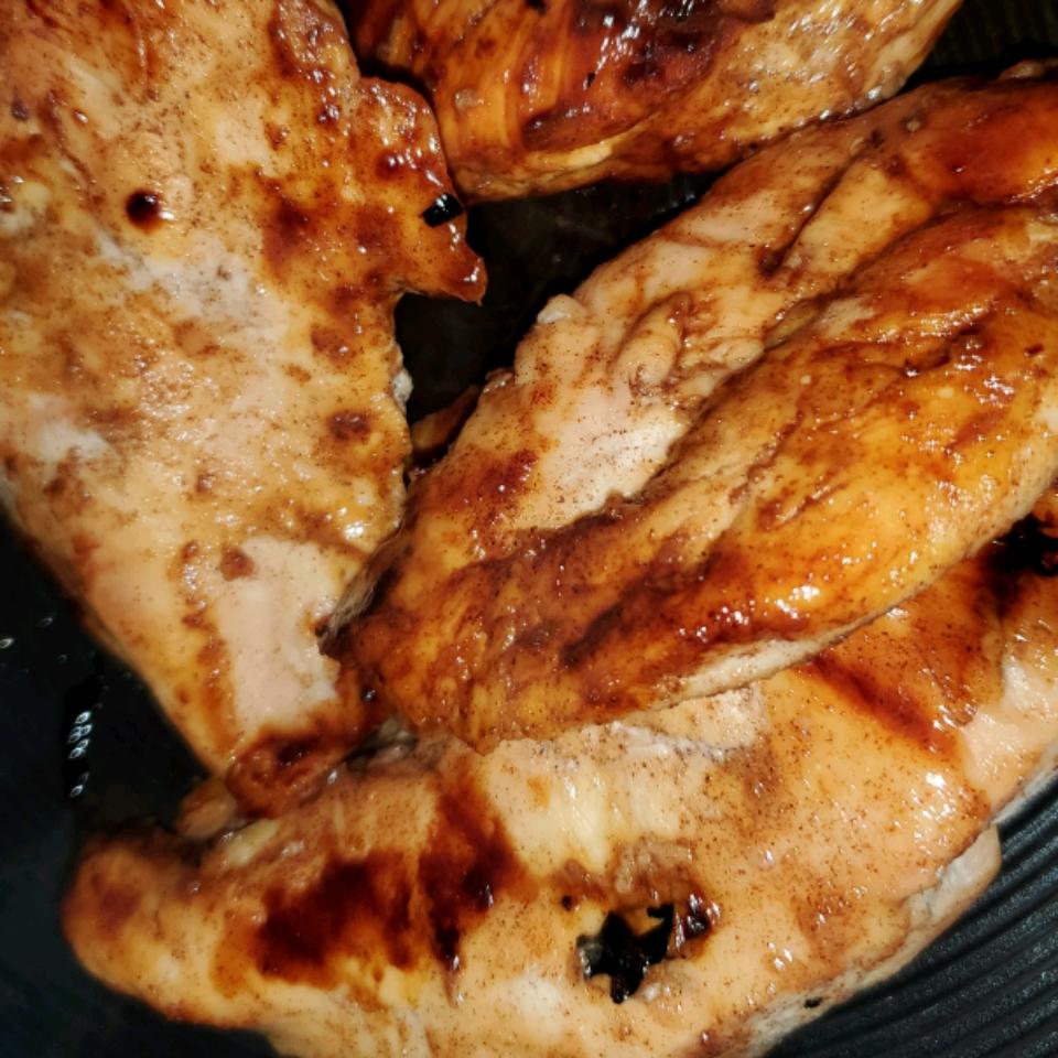 Apple Honey Glazed Chicken Roan Mackey
