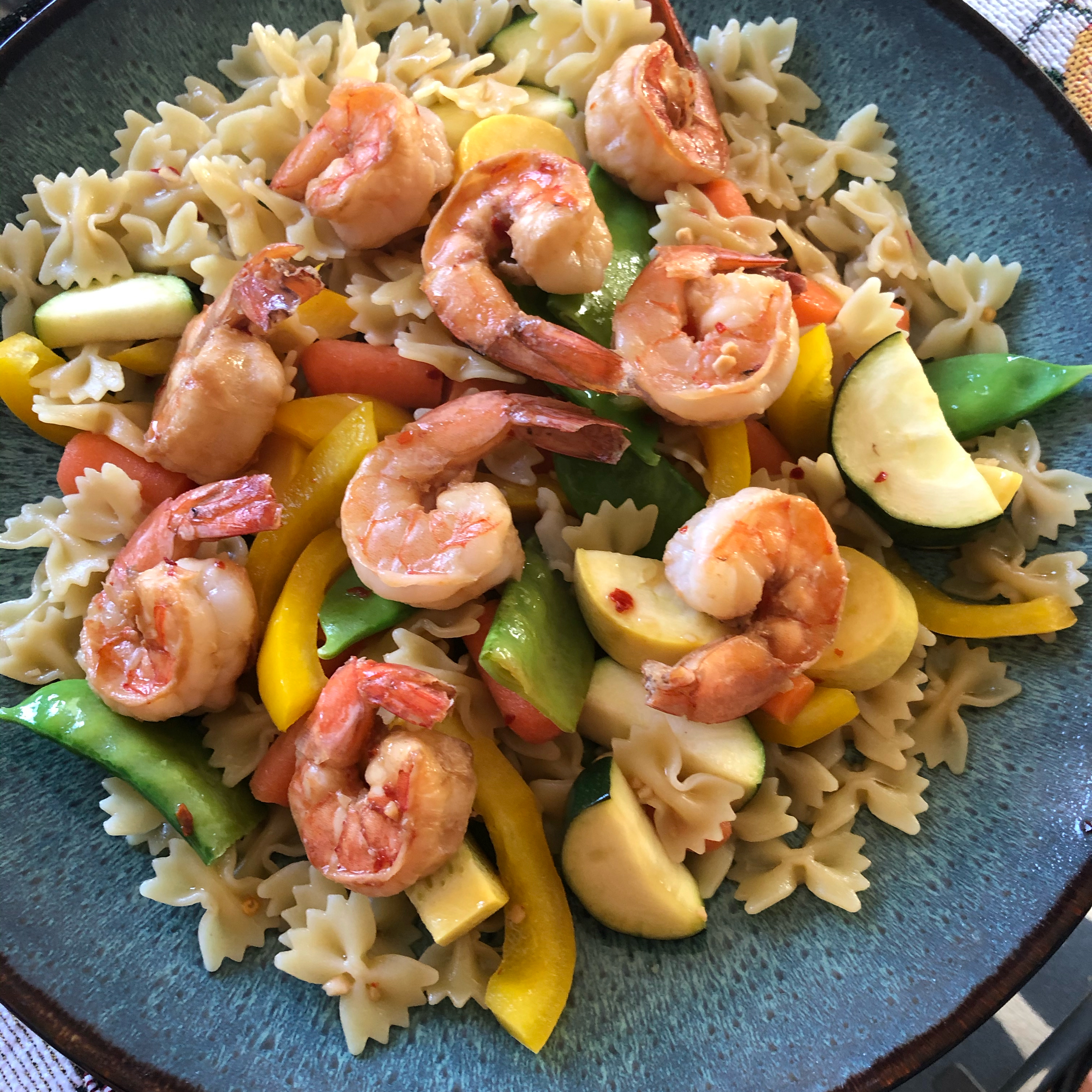grilled kung pao shrimp recipe
