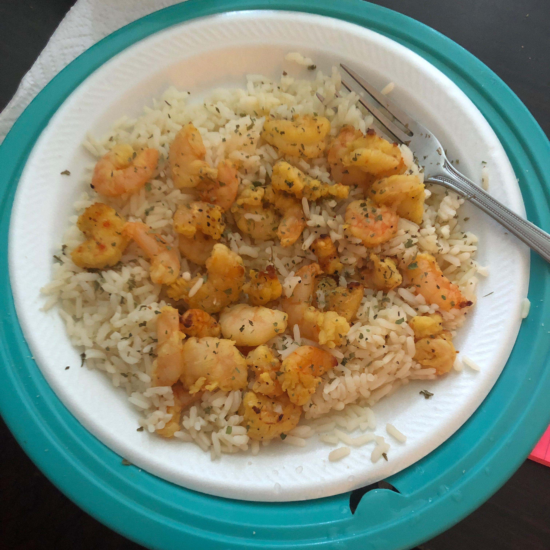 Air Fryer Lemon Pepper Shrimp