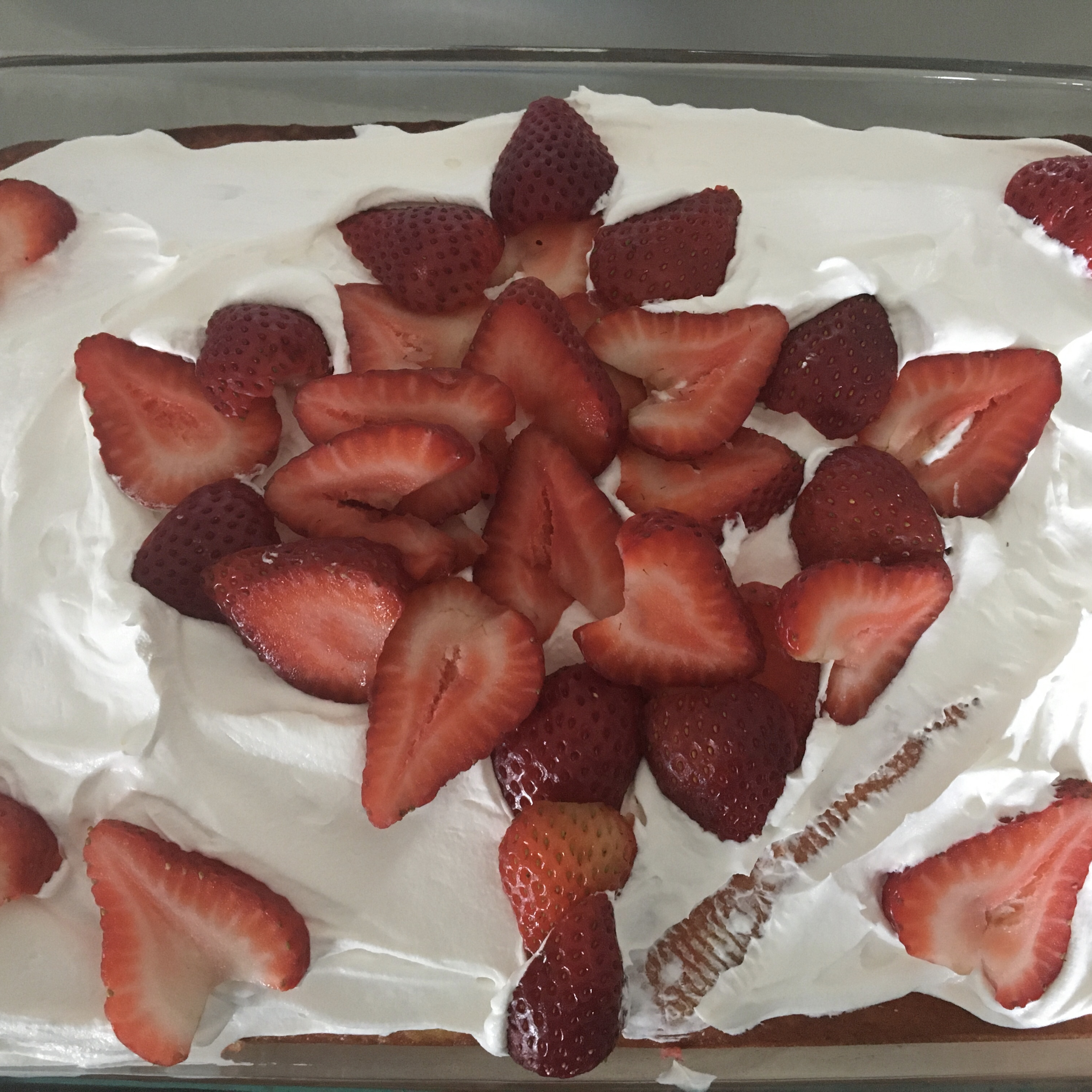 Strawberry Poke Cake Virginia Young