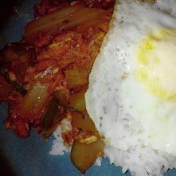 Chompchae Deopbap (Korean Spicy Tuna and Rice) meshal33