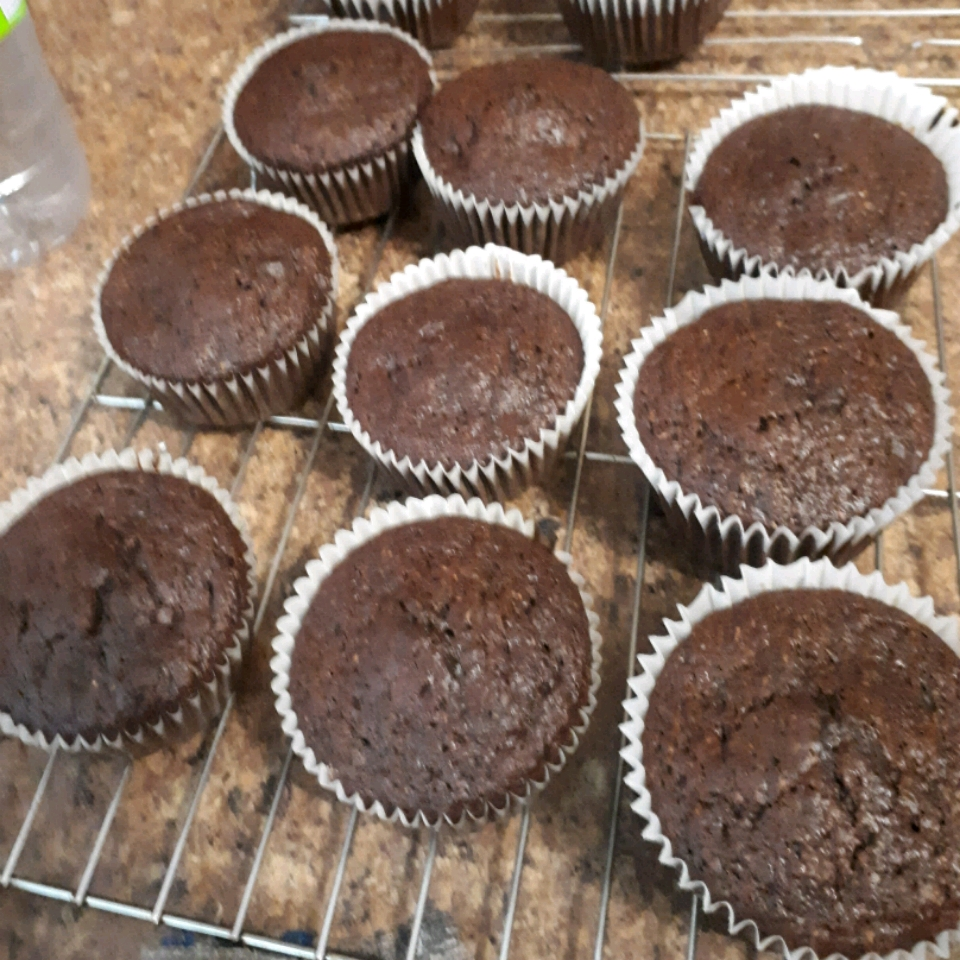 Healthy Chocolate Morning Muffins