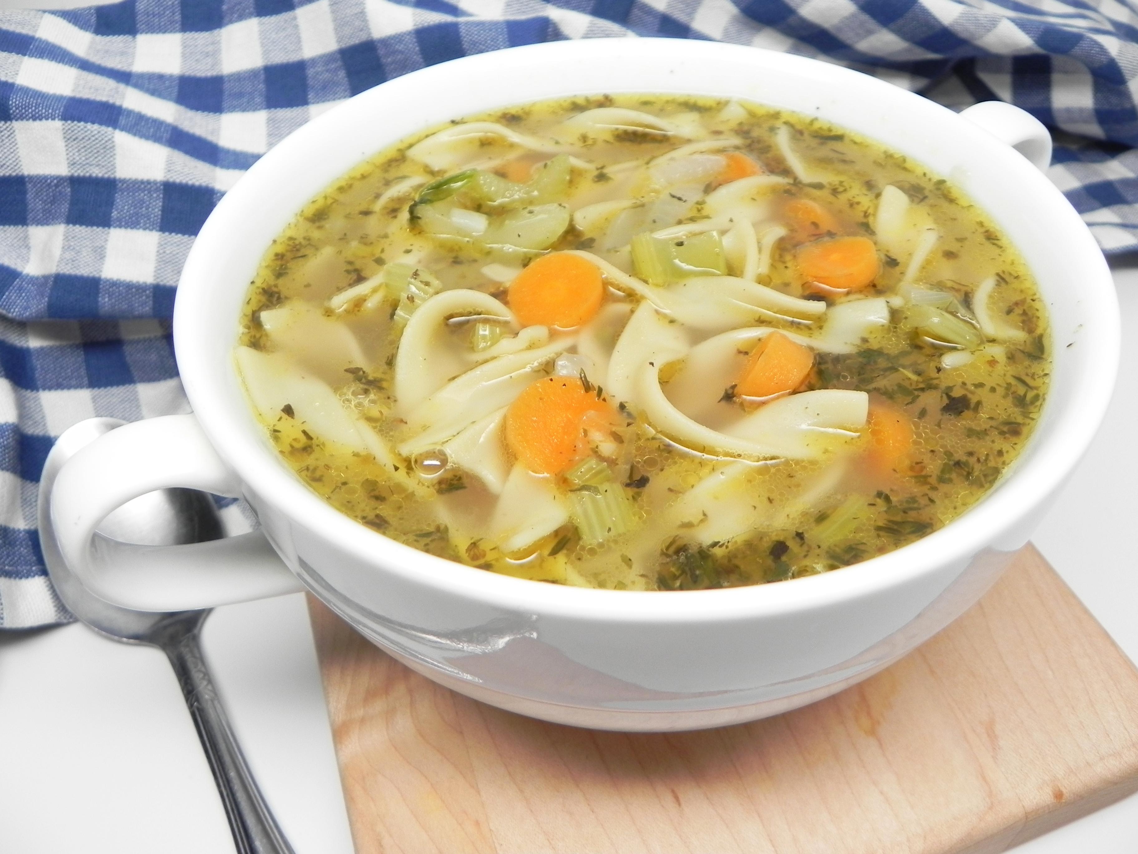 Instant Pot® Chicken Noodle Soup