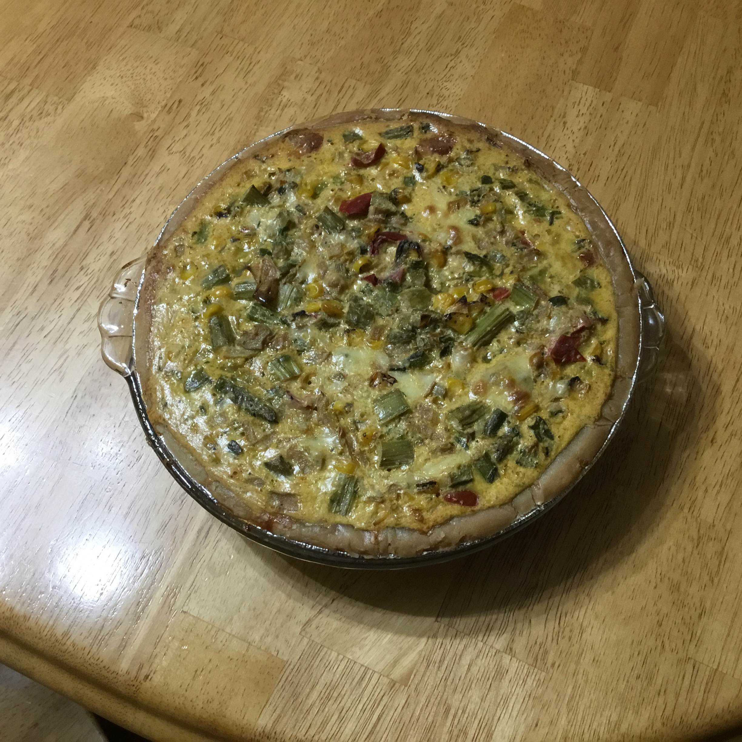 Asparagus Chicken Quiche MJTurner