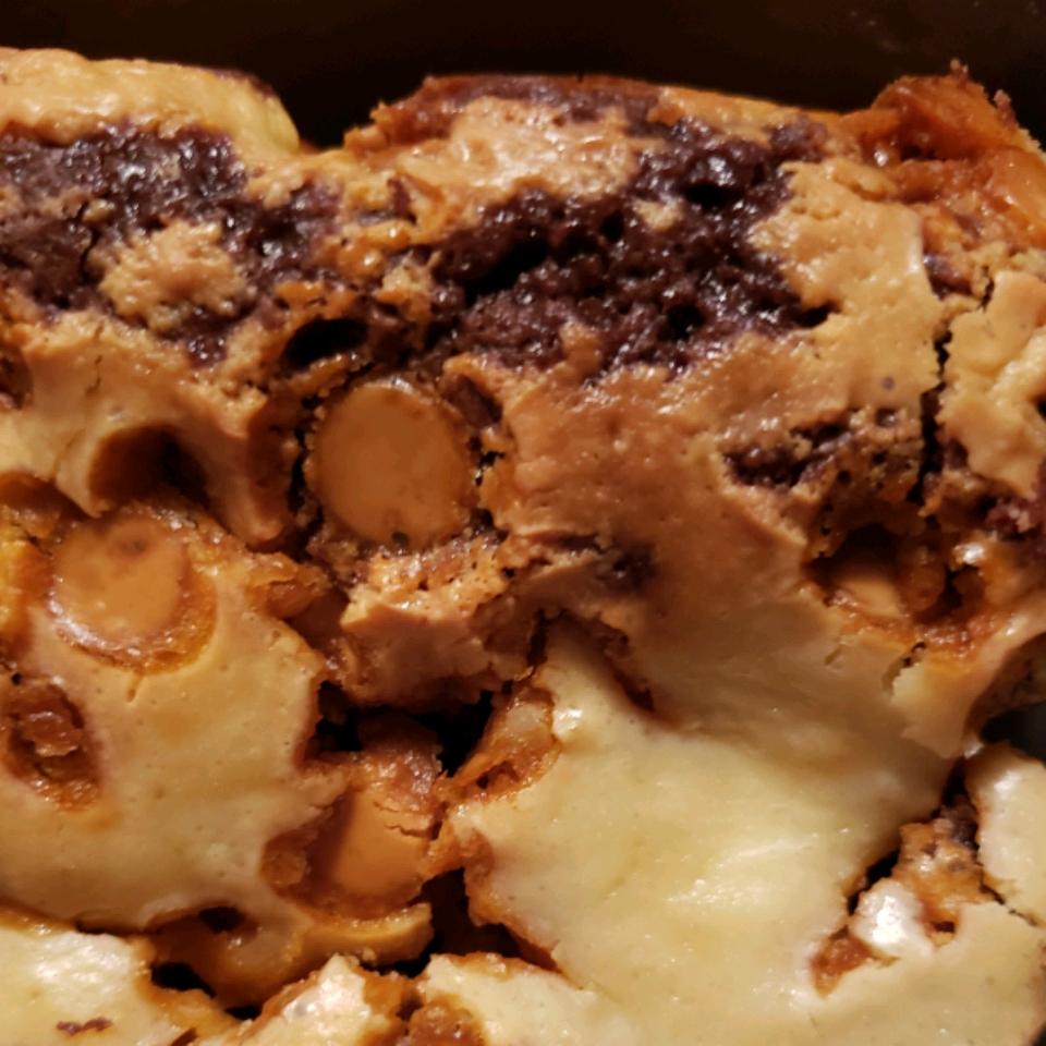 Butterscotch Cream Cheese Brownies