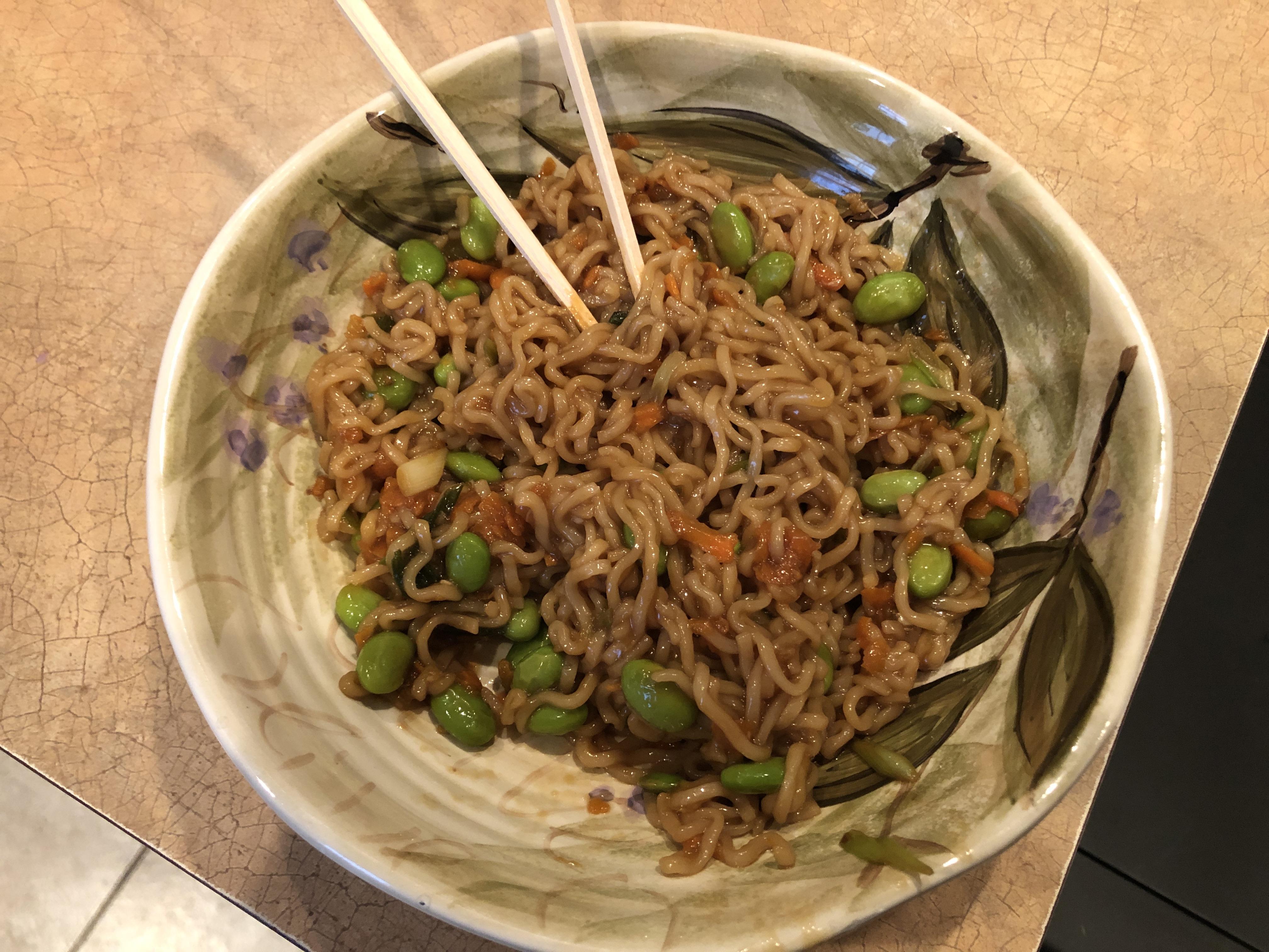 Ginger-Scallion Ramen Noodles