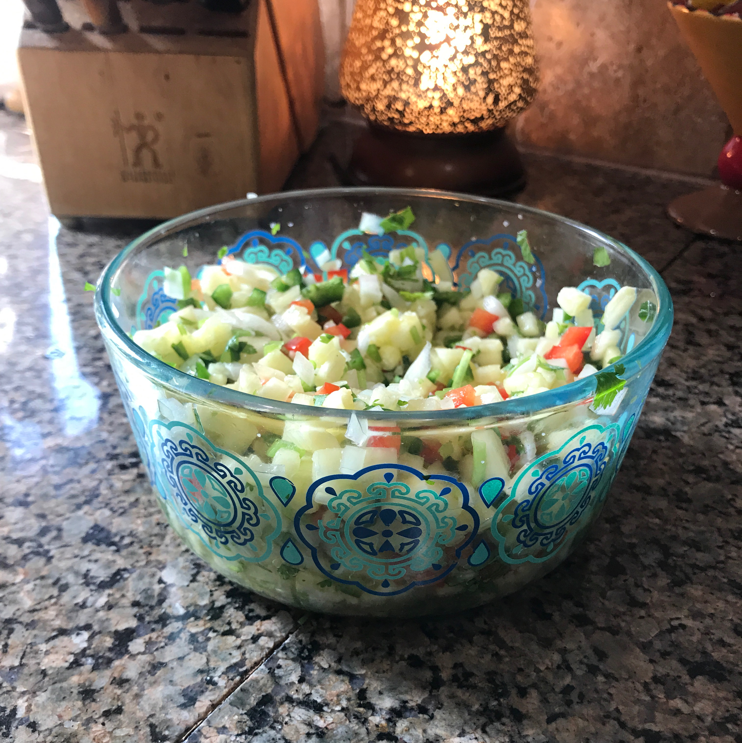 Fresh Pineapple Salsa Chris Poppe Moore
