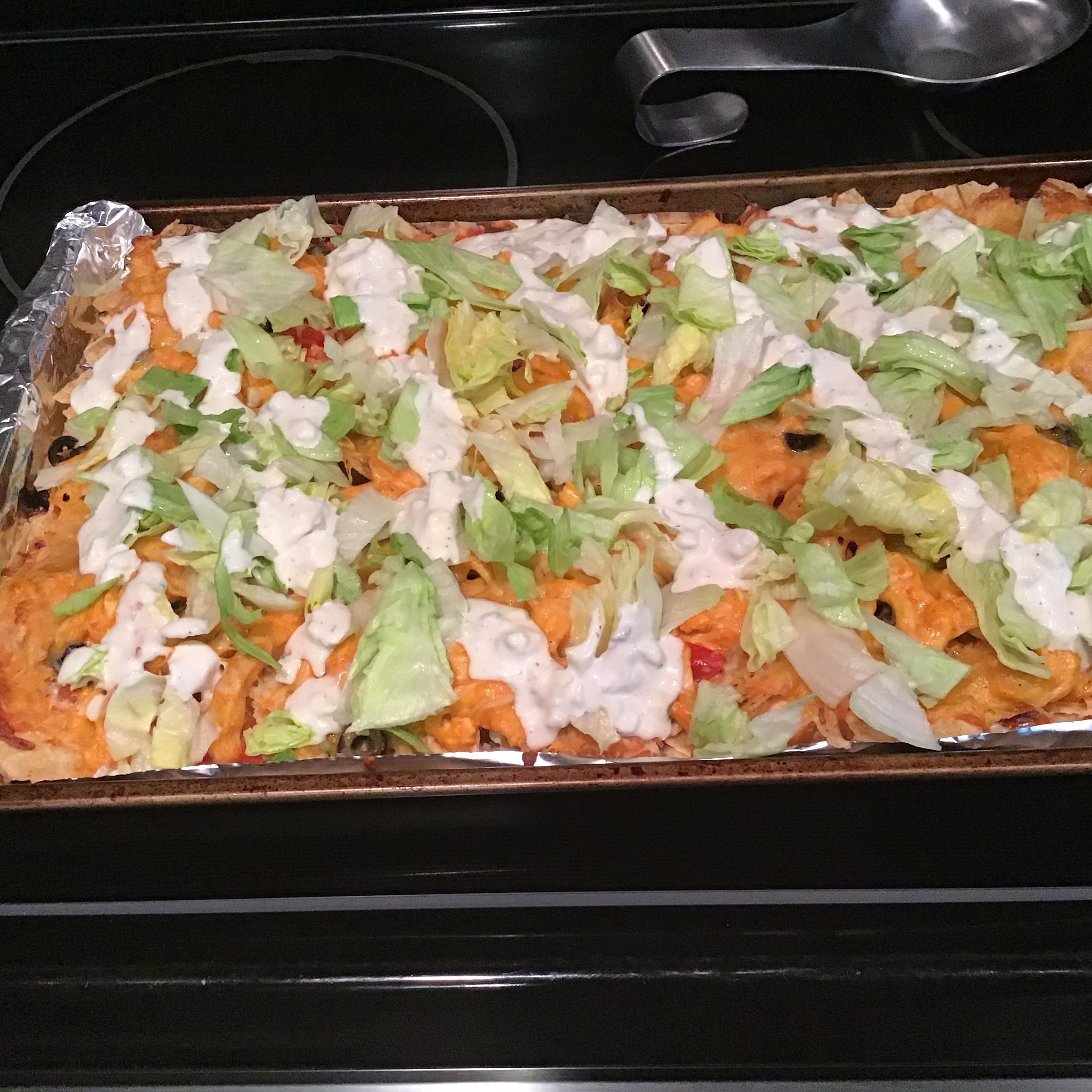 Kickin' Buffalo Chicken Nachos