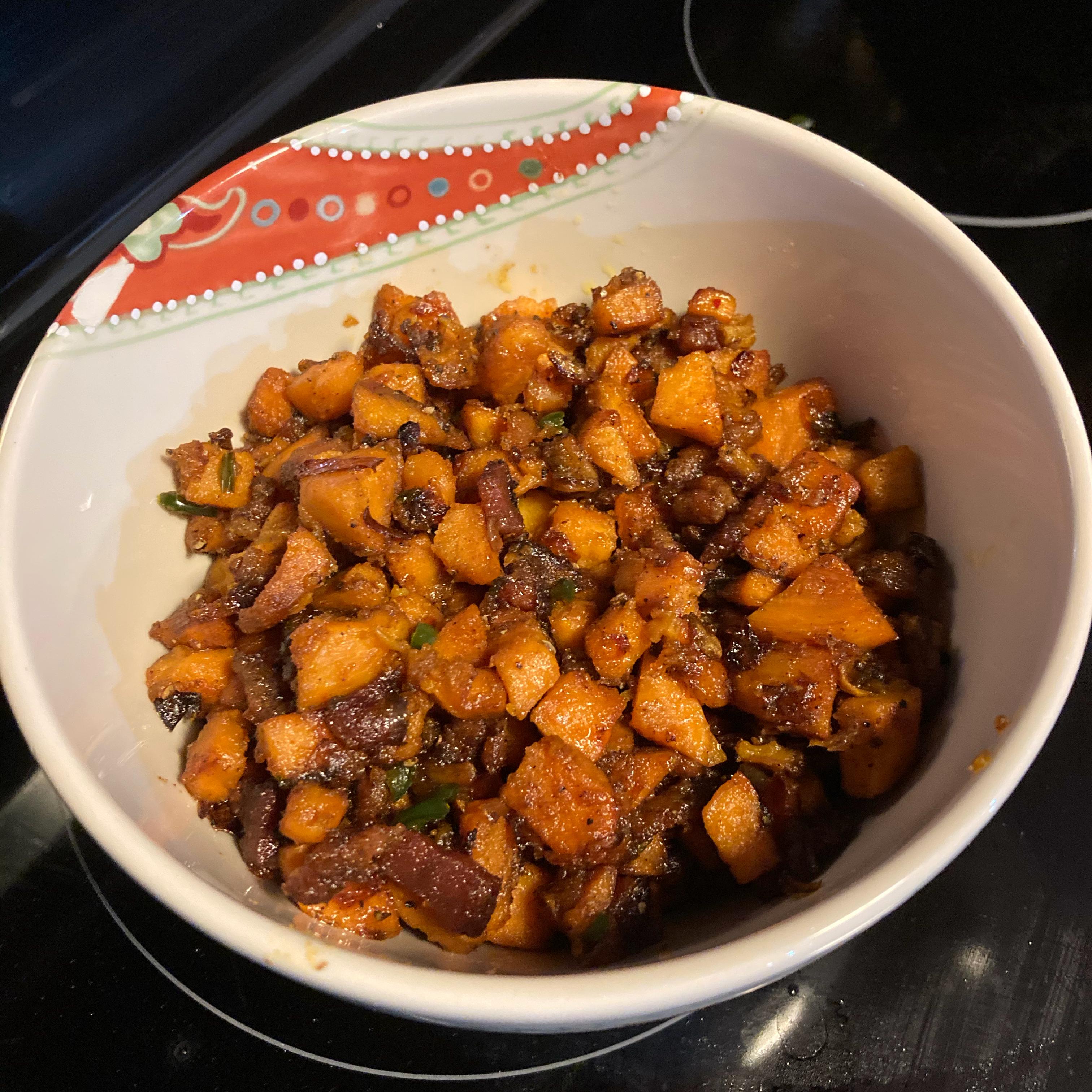 Sweet Potato and Fennel Hash Michael Chapman