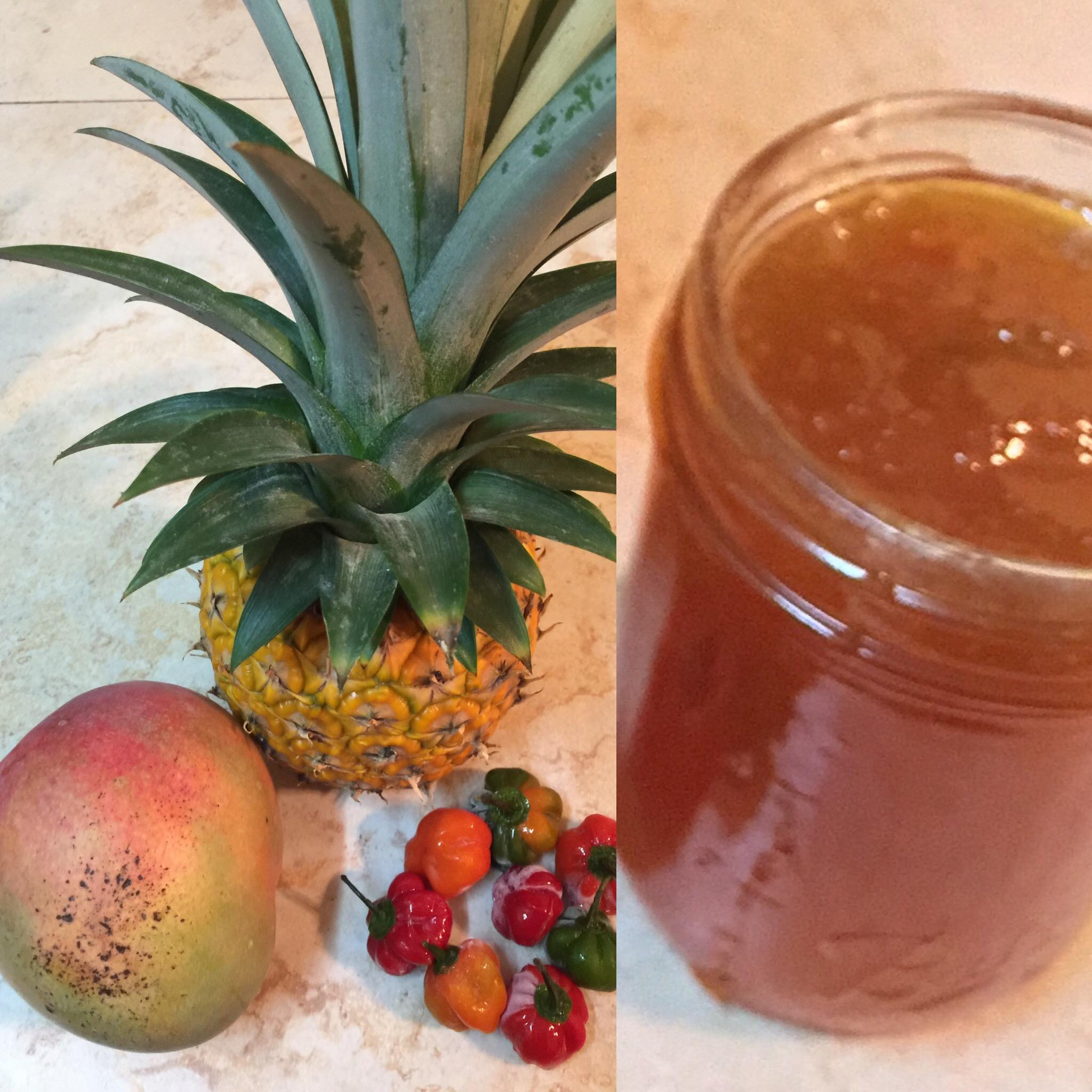 Pineapple Mango Habanero Jam