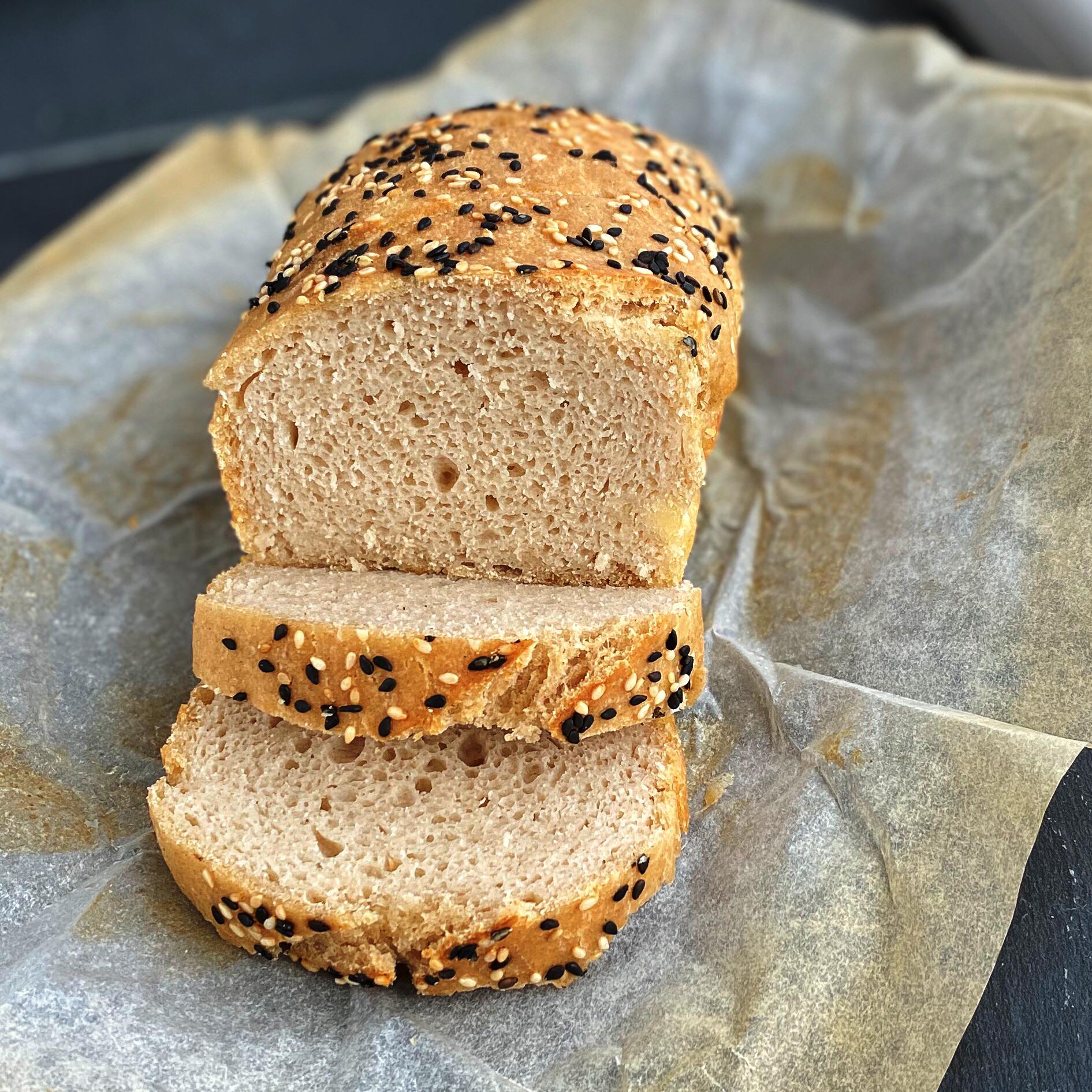 Gluten-Free Sourdough Sandwich Bread