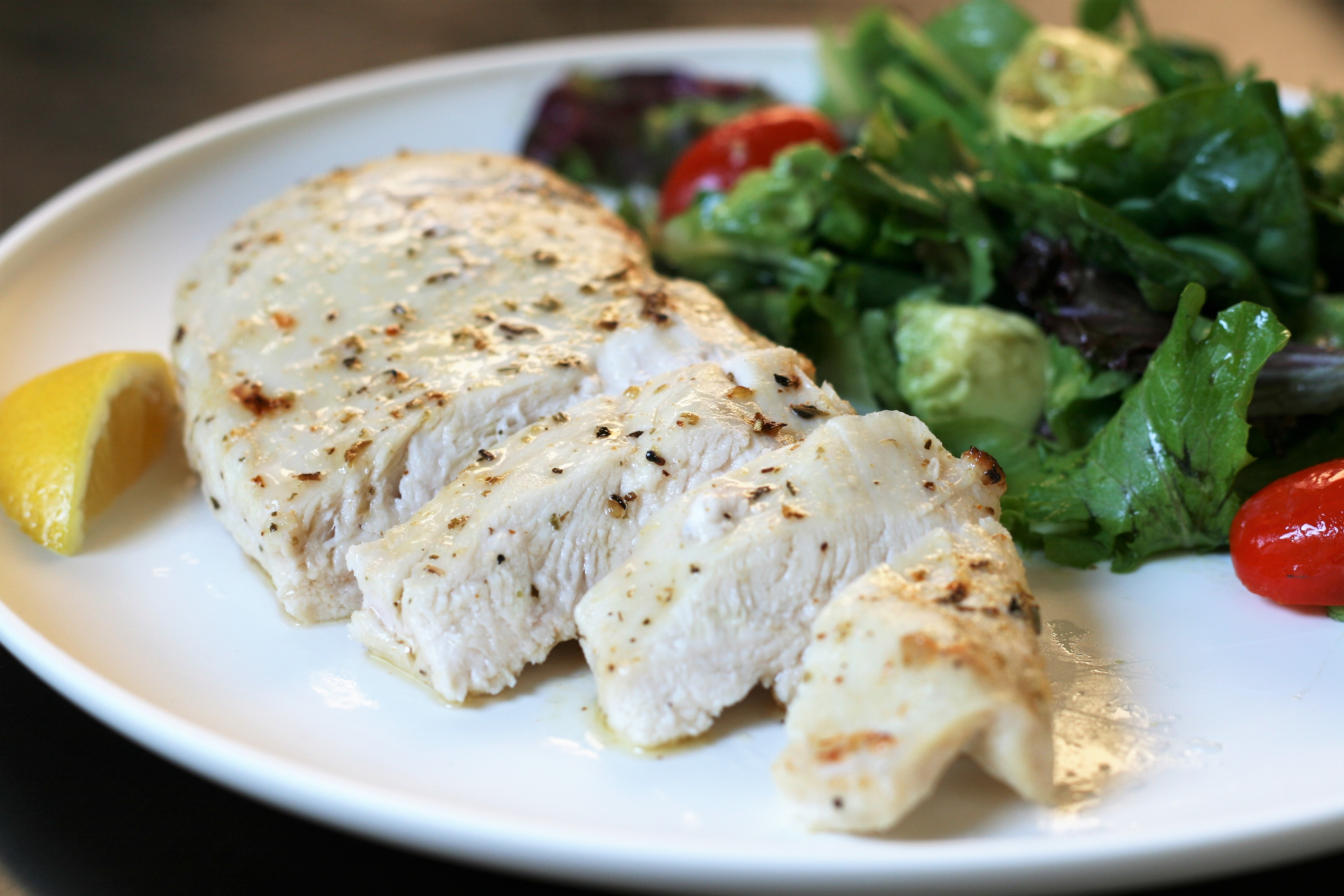 Simple Broiled Chicken Breasts