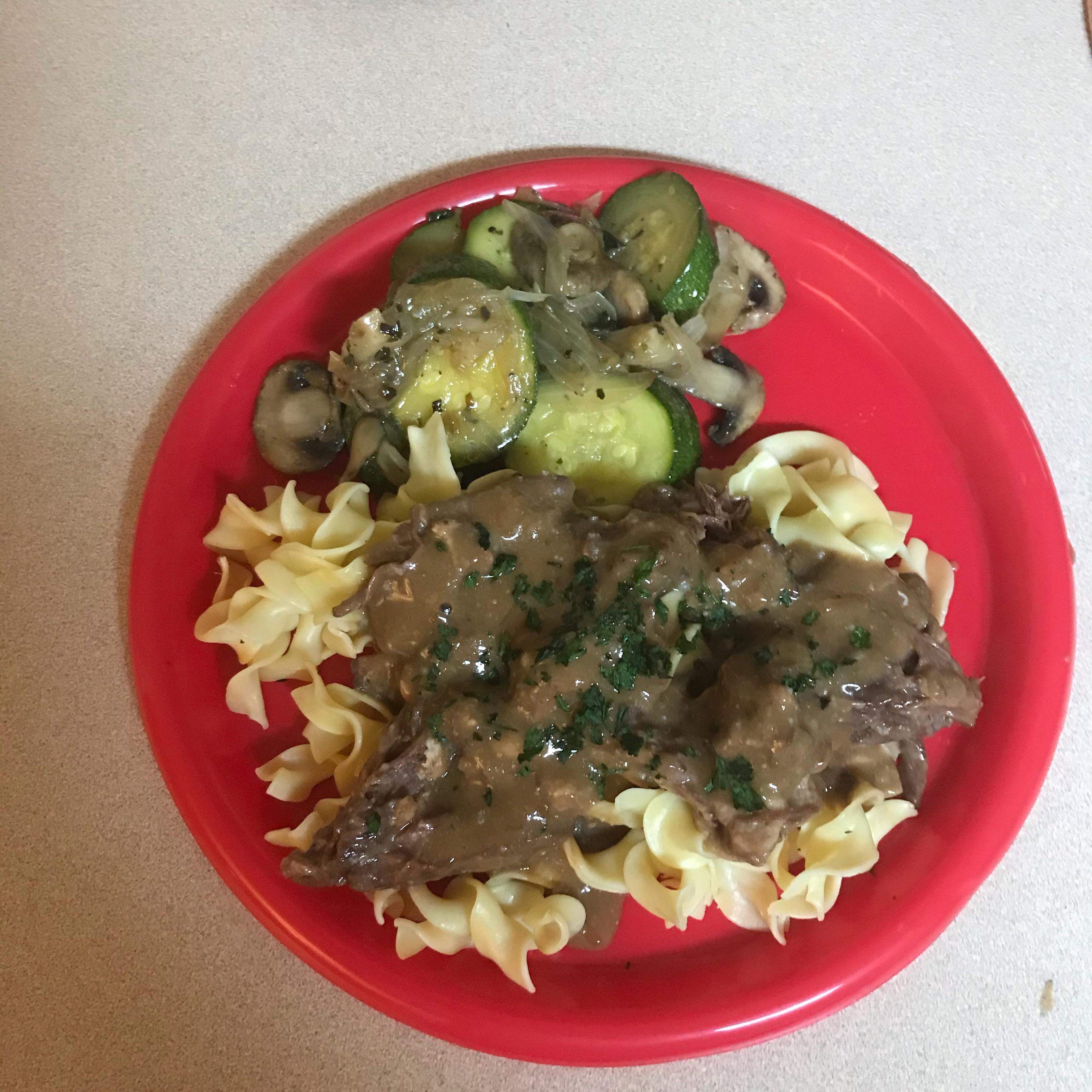 Daria's Slow Cooker Beef Stroganoff