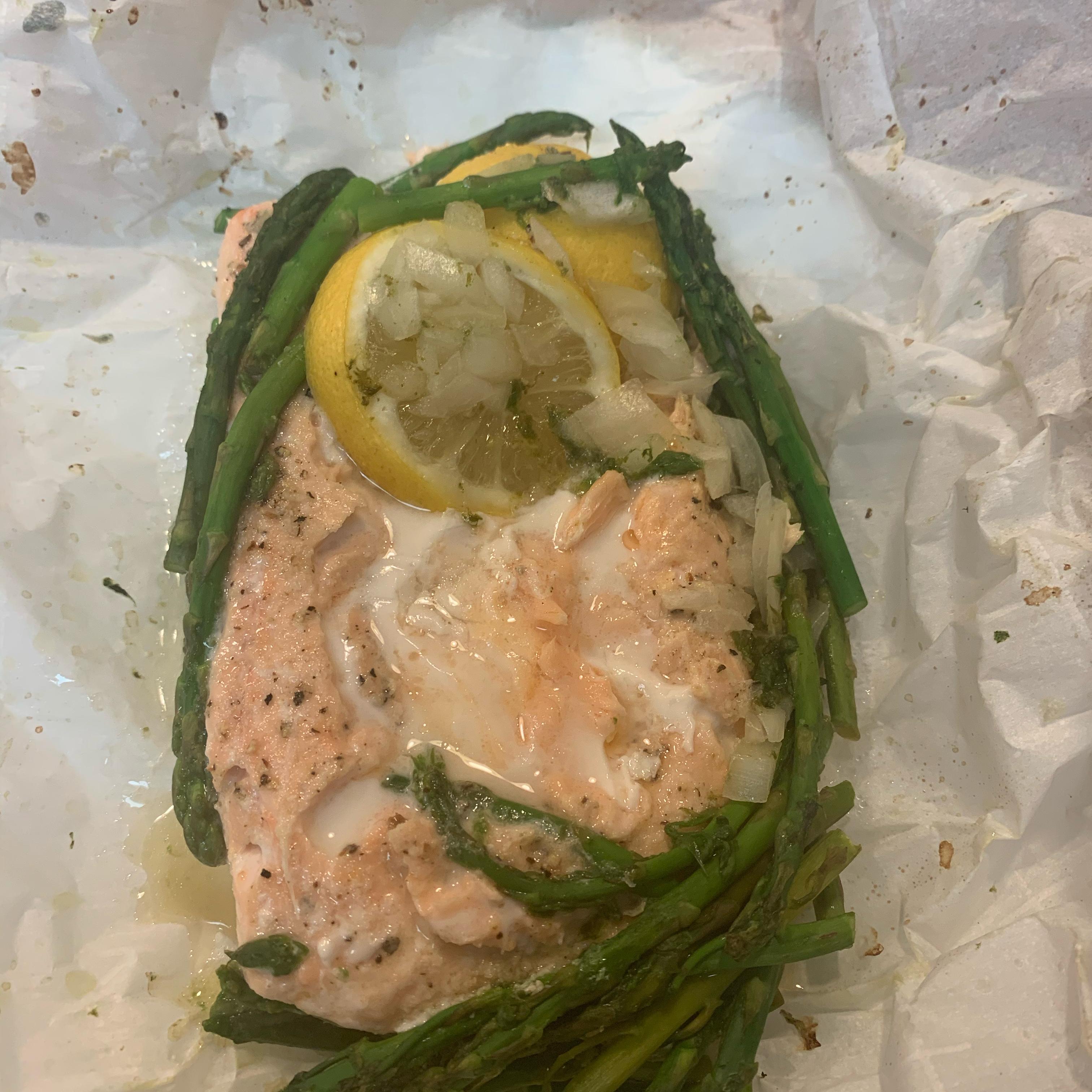 Carly's Salmon En Papillote (In Paper) Gidget57