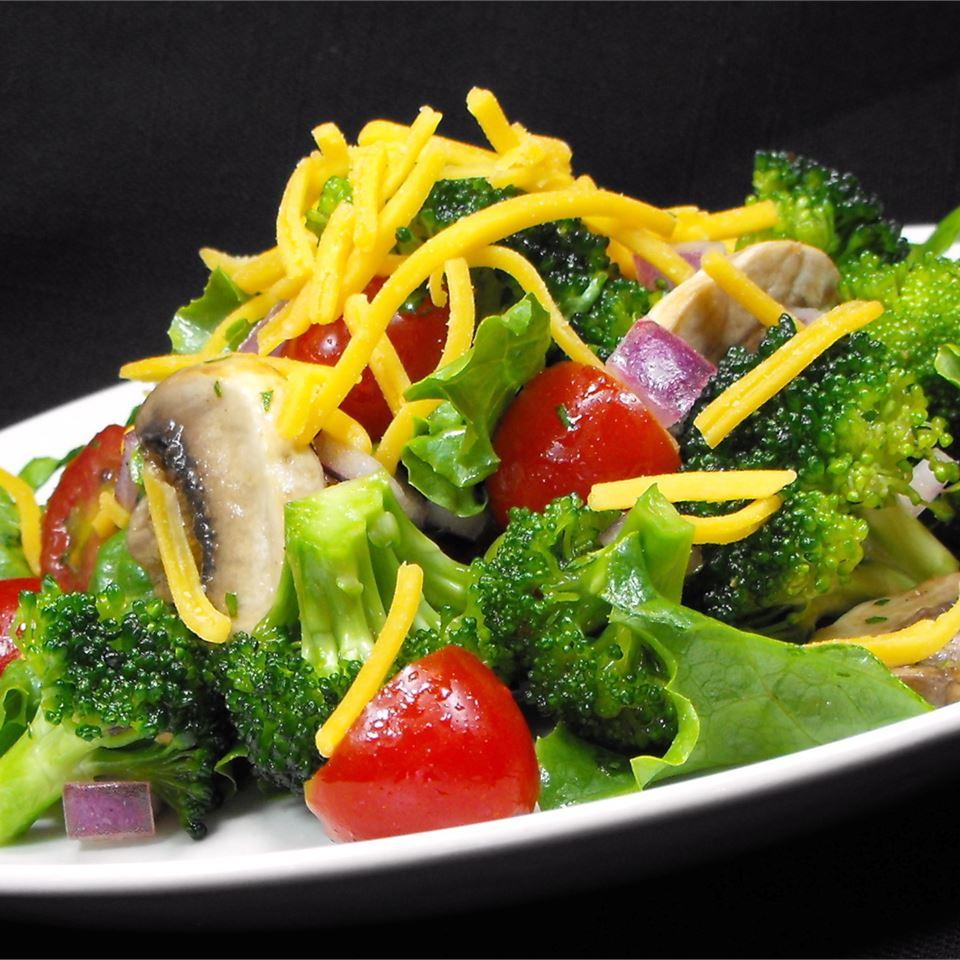 Broccoli Salad with Margarita Dressing