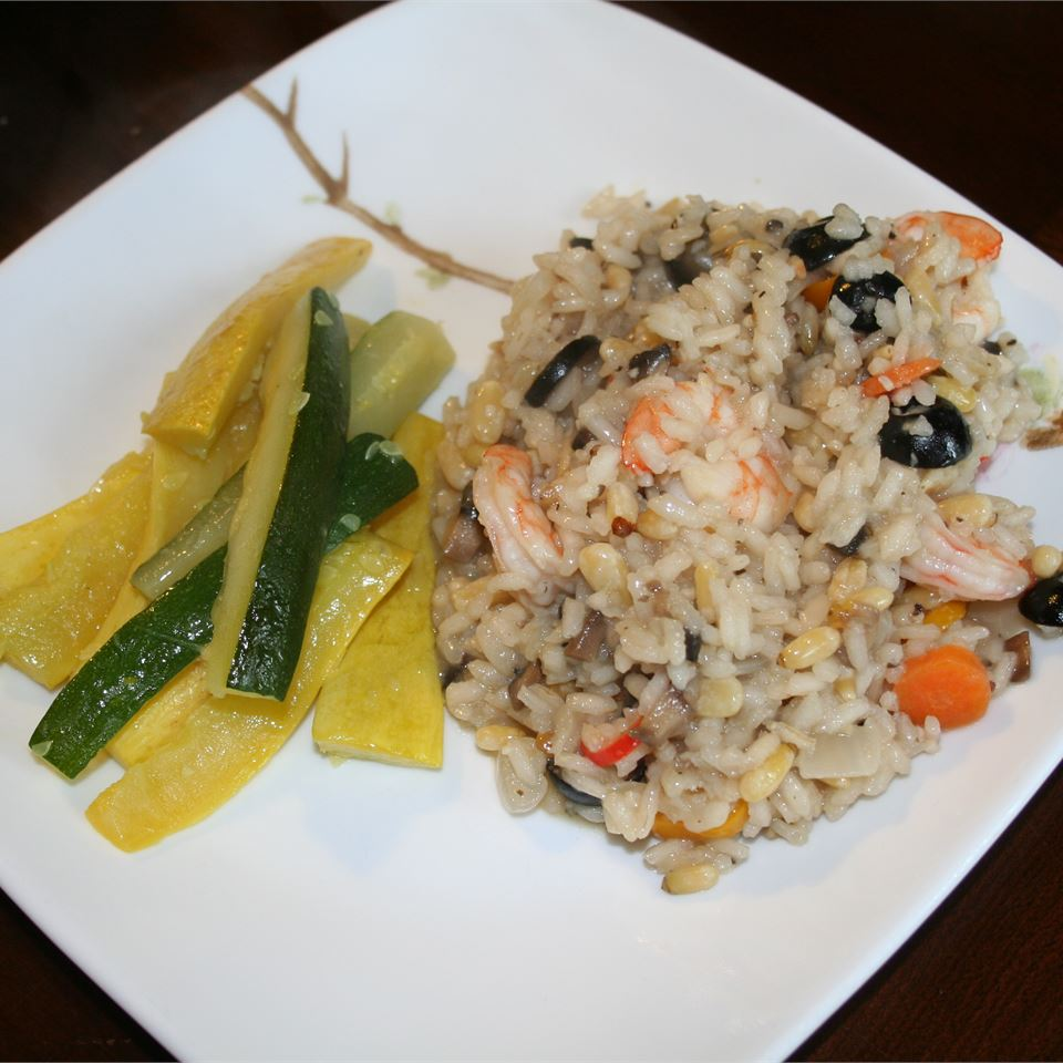 Prawn and Pine Nut Risotto phuong