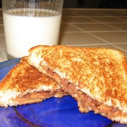 Peanut Butter Cup Grilled Sandwich Mrs.Williams
