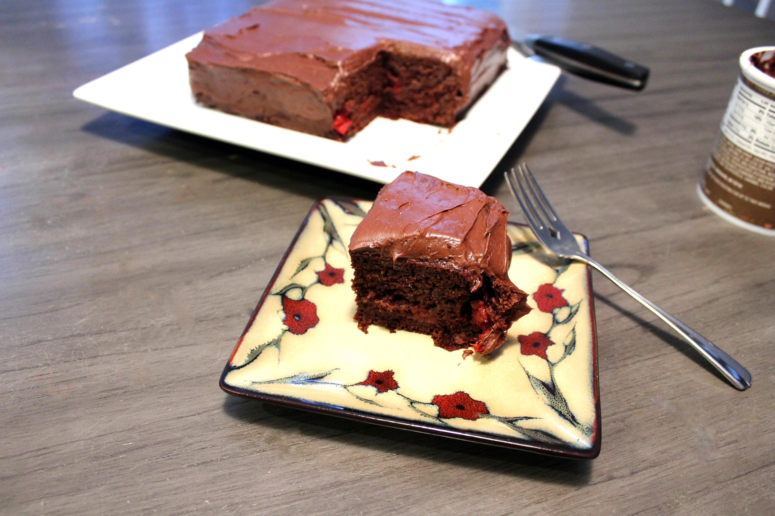 Chocolate-Cherry Dump Cake