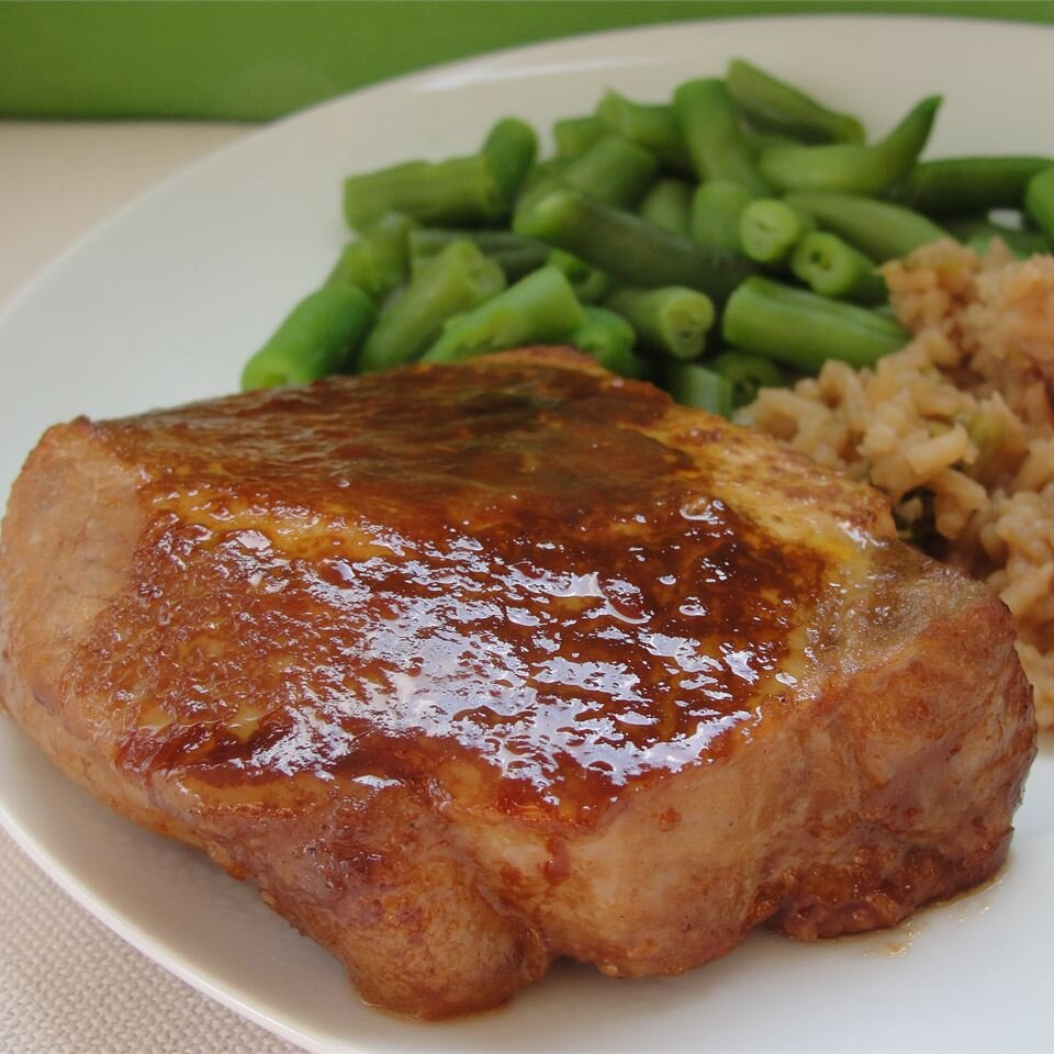 Marinated Baked Pork Chops Recipe Allrecipes