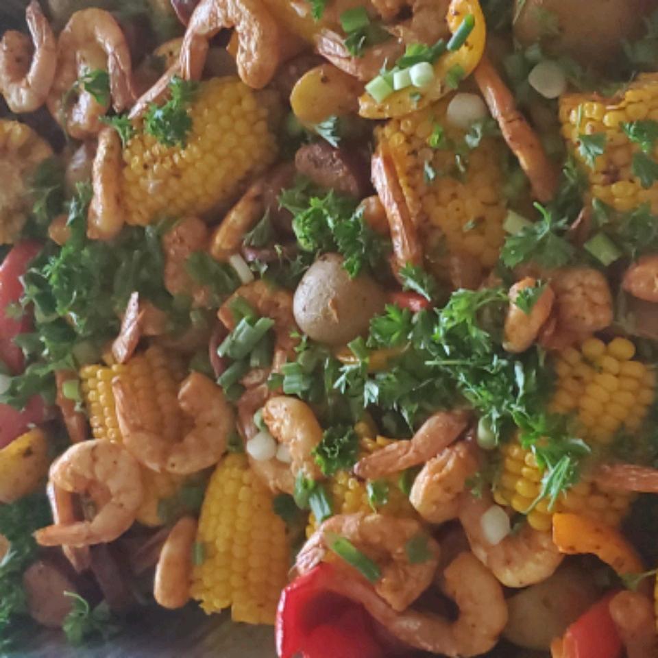 Sheet Pan Shrimp and Sausage Bake Imelda Crothers