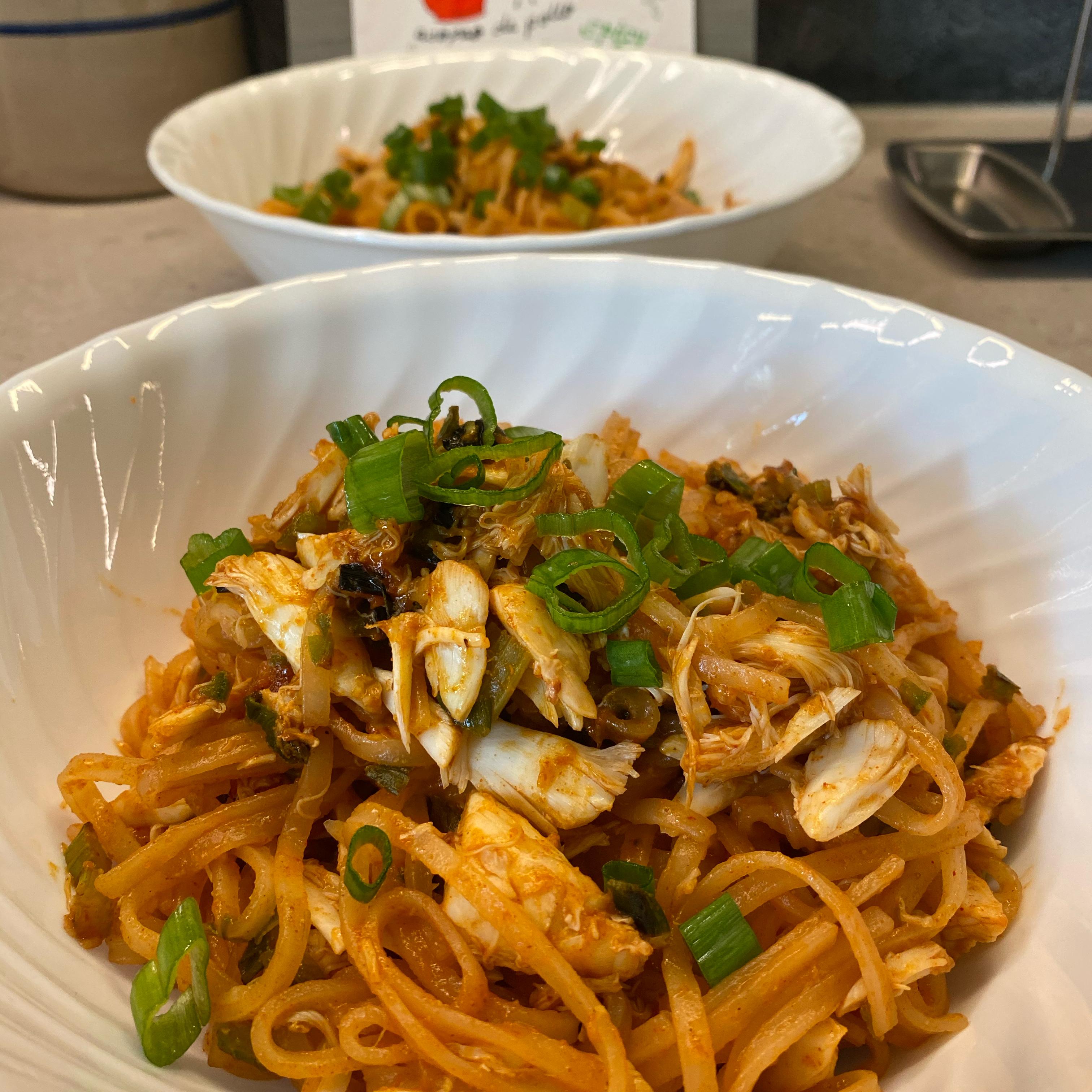 Creole Crab Noodles soo