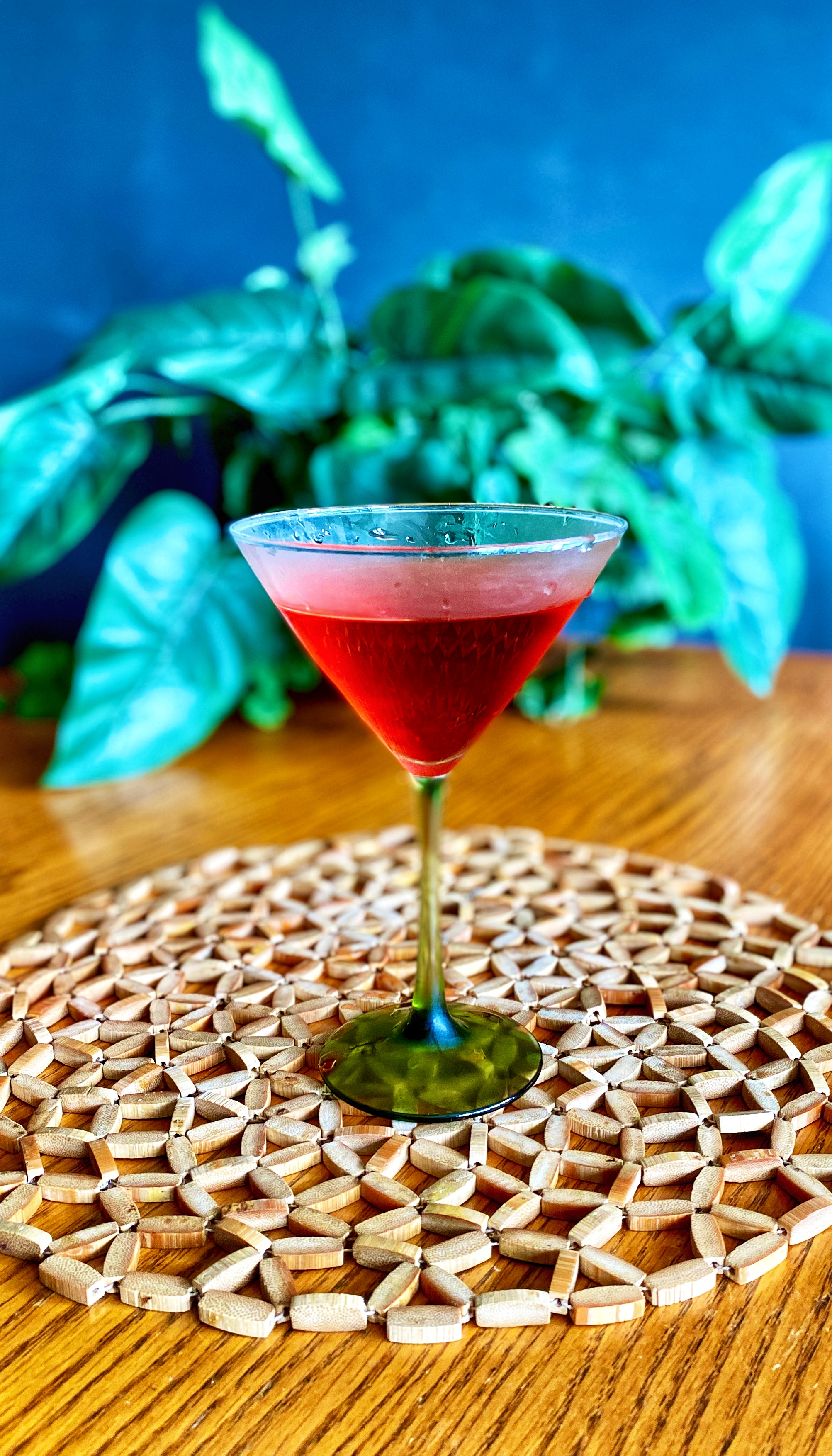 Pomegranate Martini II