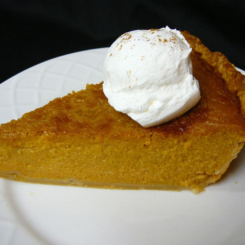 Mrs. Sigg's Fresh Pumpkin Pie Beth Sigworth