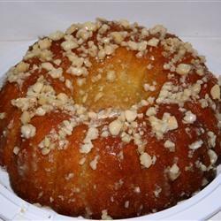 Coconut Pound Cake Annette