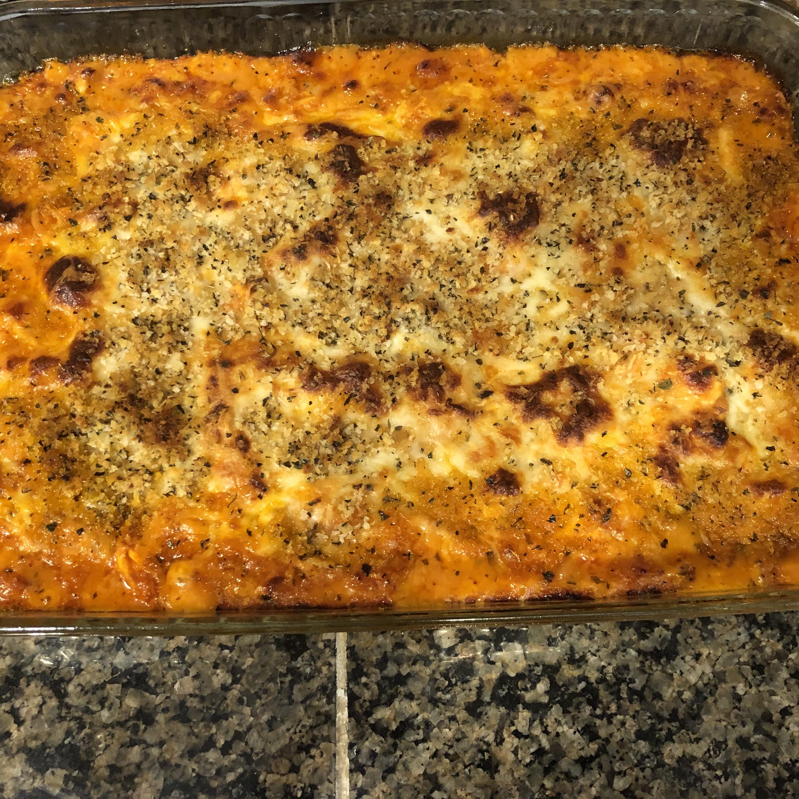 Baked Chicken Parmesan Dip Kathy Bragg