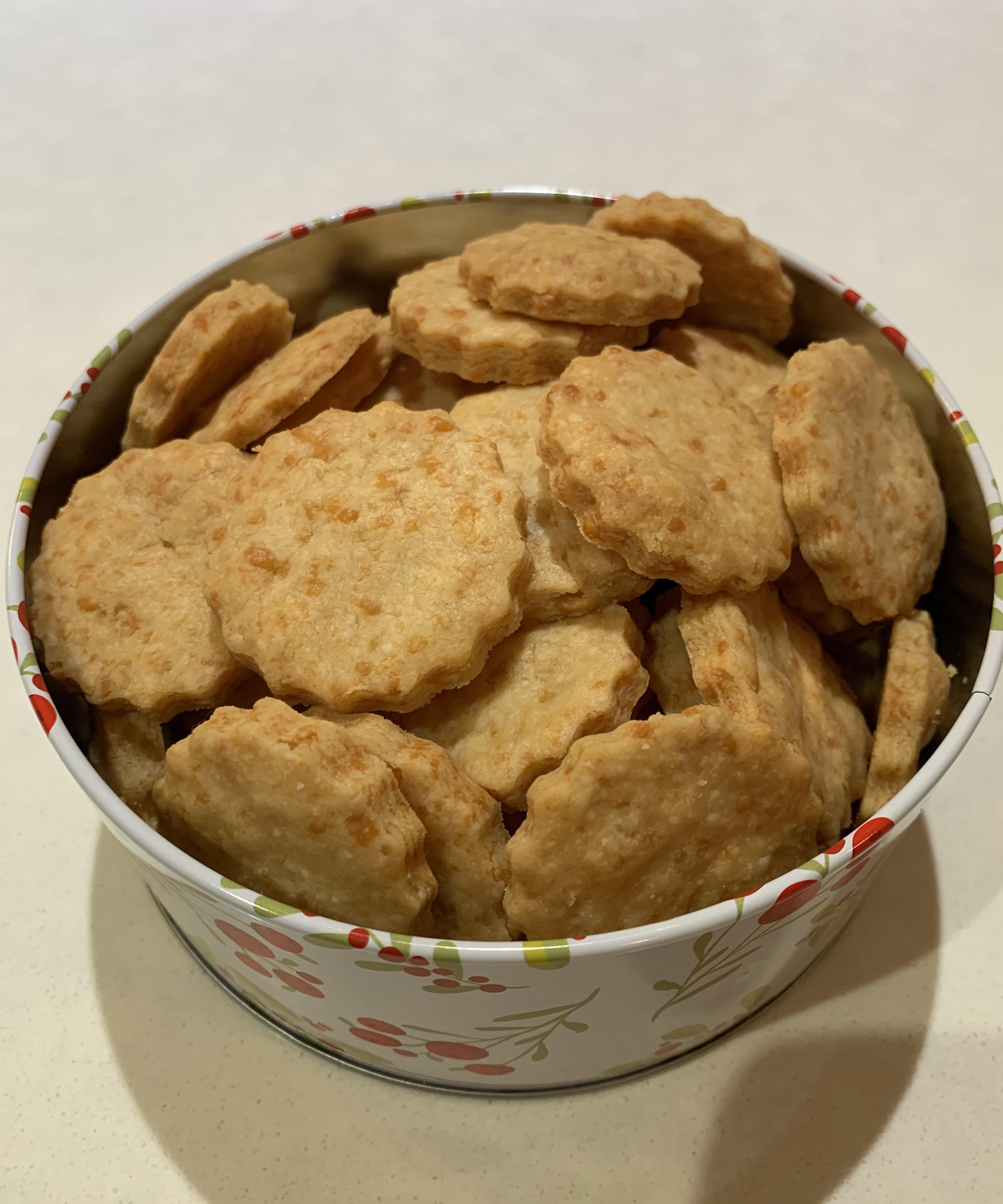 3-Ingredient Parmesan Cookies Adriana Woodard