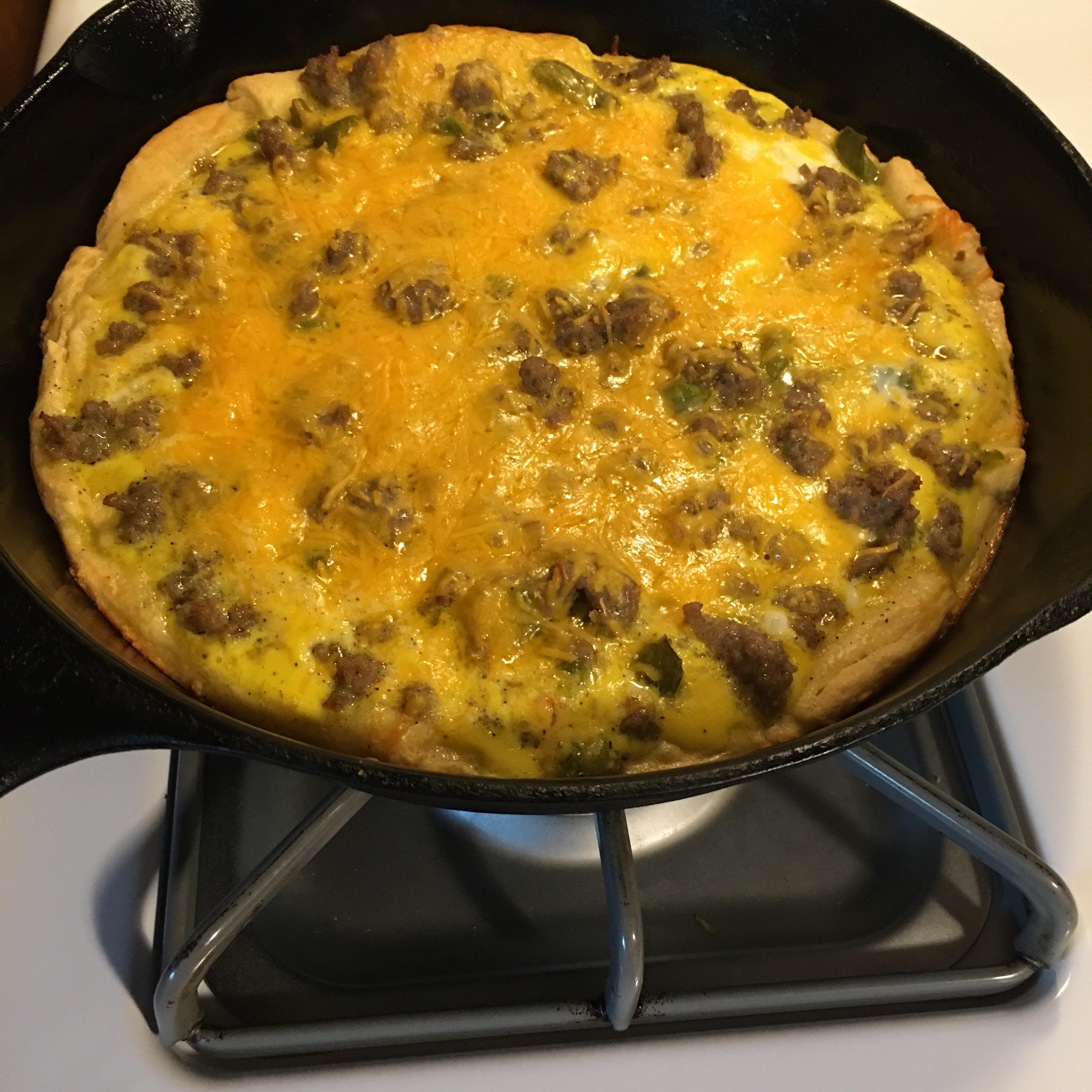 Jimmy Dean Sausage Breakfast Pizza