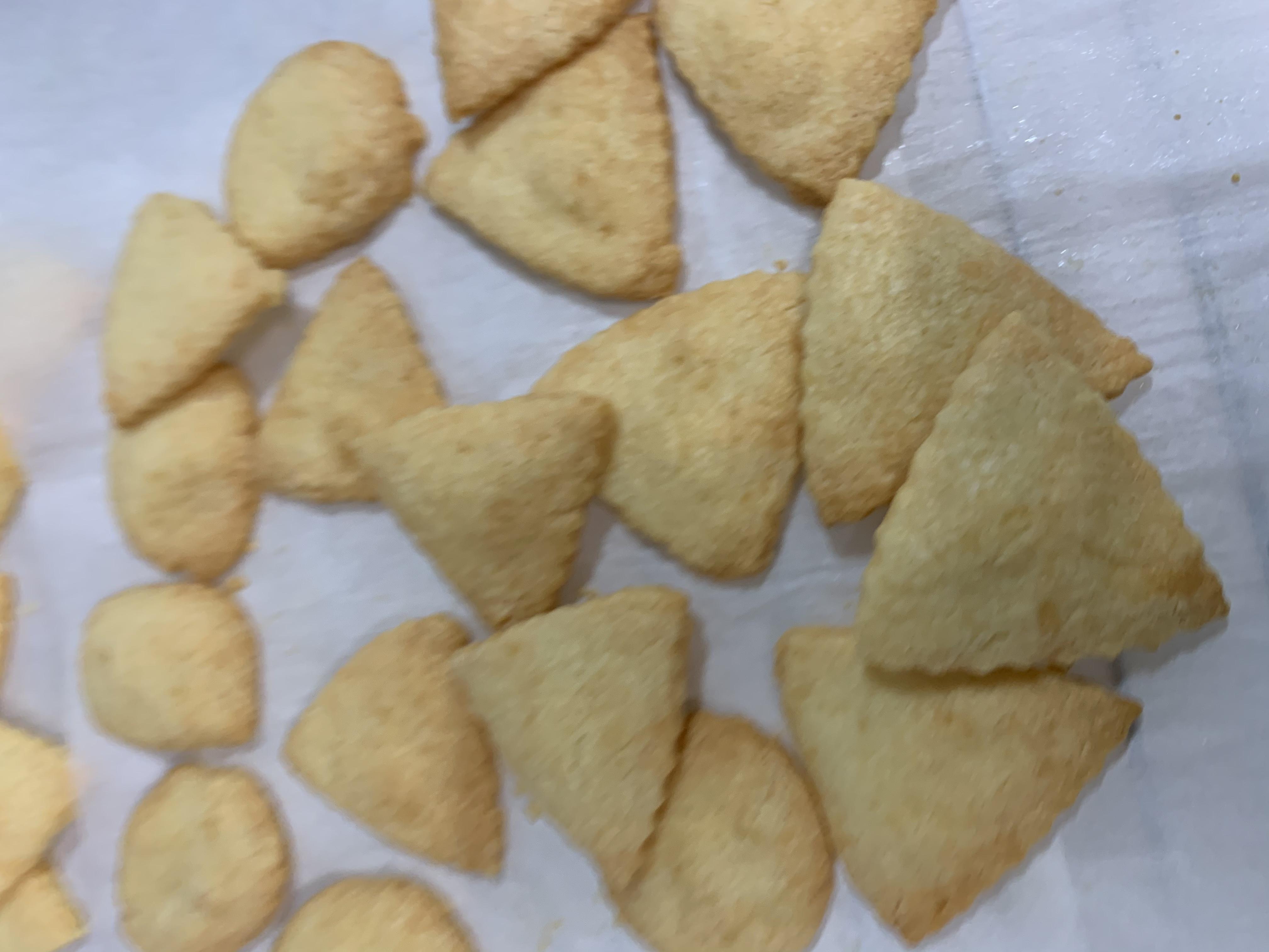 3-Ingredient Parmesan Cookies Sandra