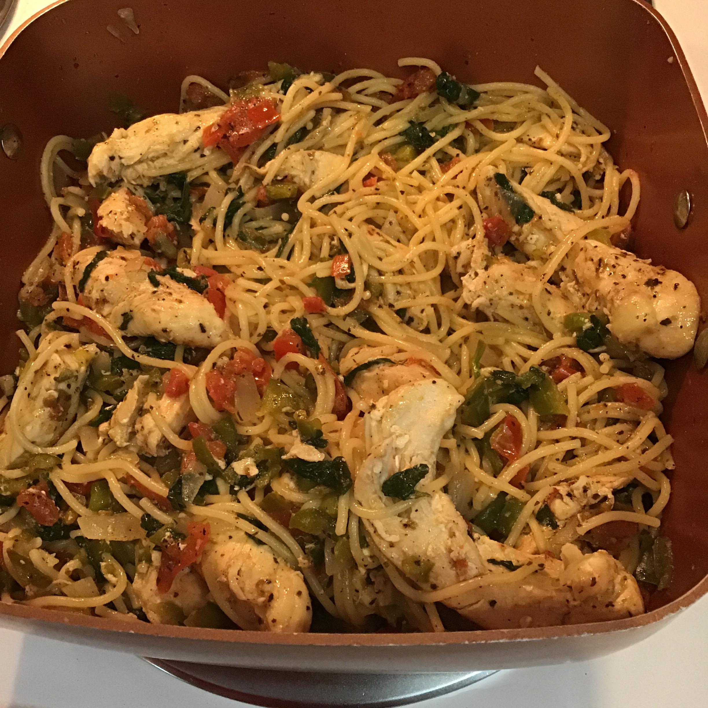 Skillet Chicken Pasta Cindy