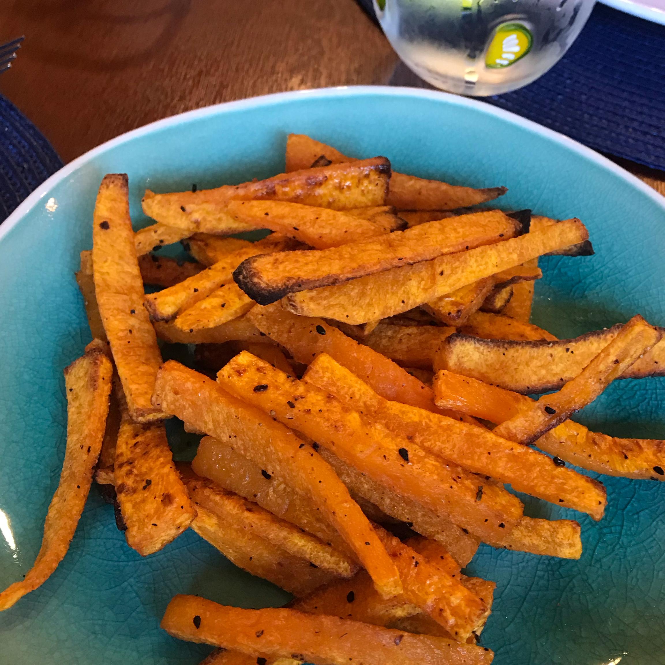 Butternut Squash Cajun Fries