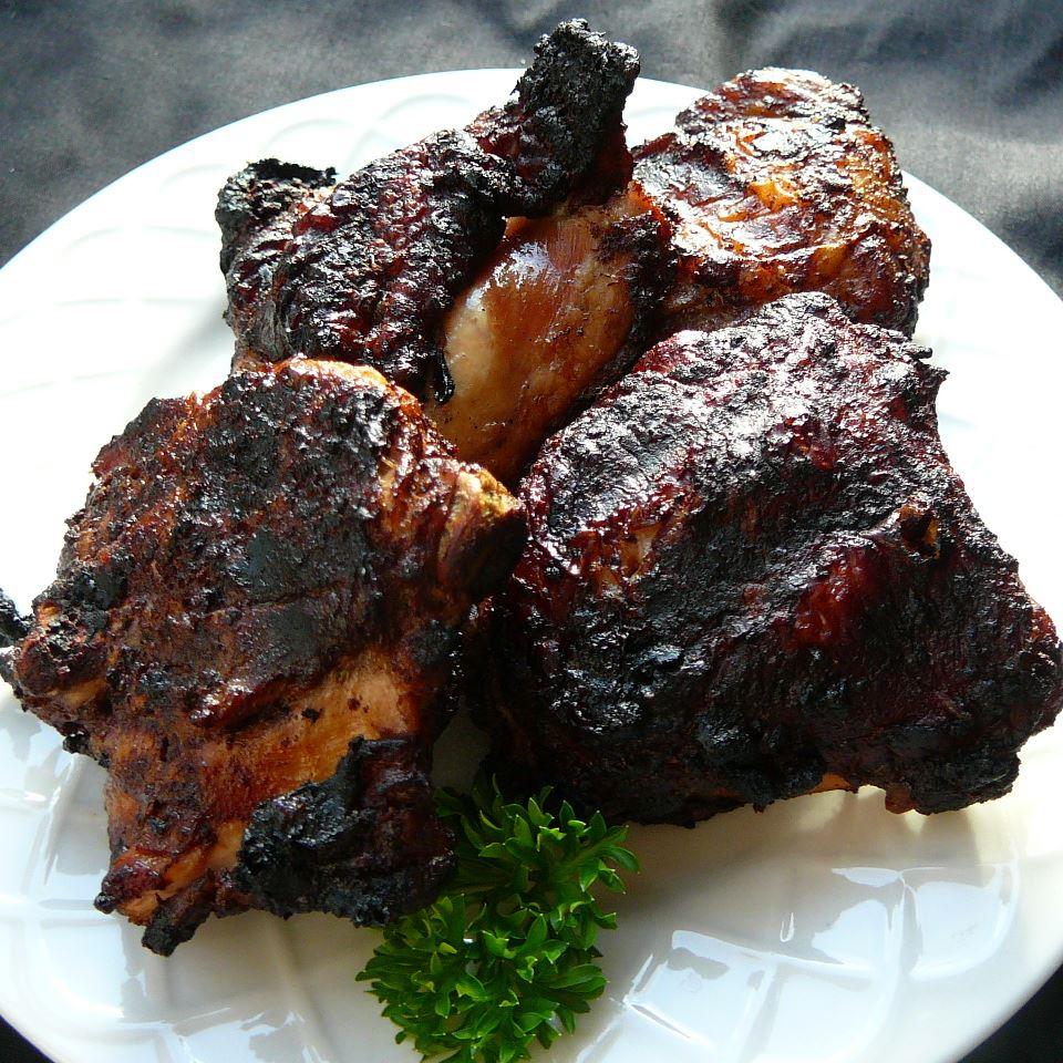 Blackened Cinnamon BBQ Chicken Eric Olivencia