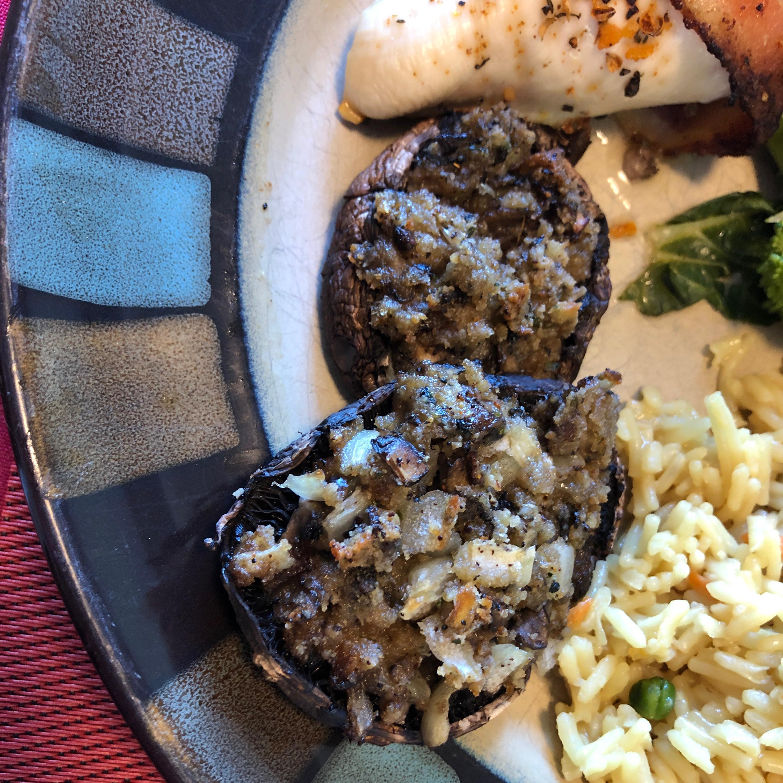 Stuffed Mushrooms IV