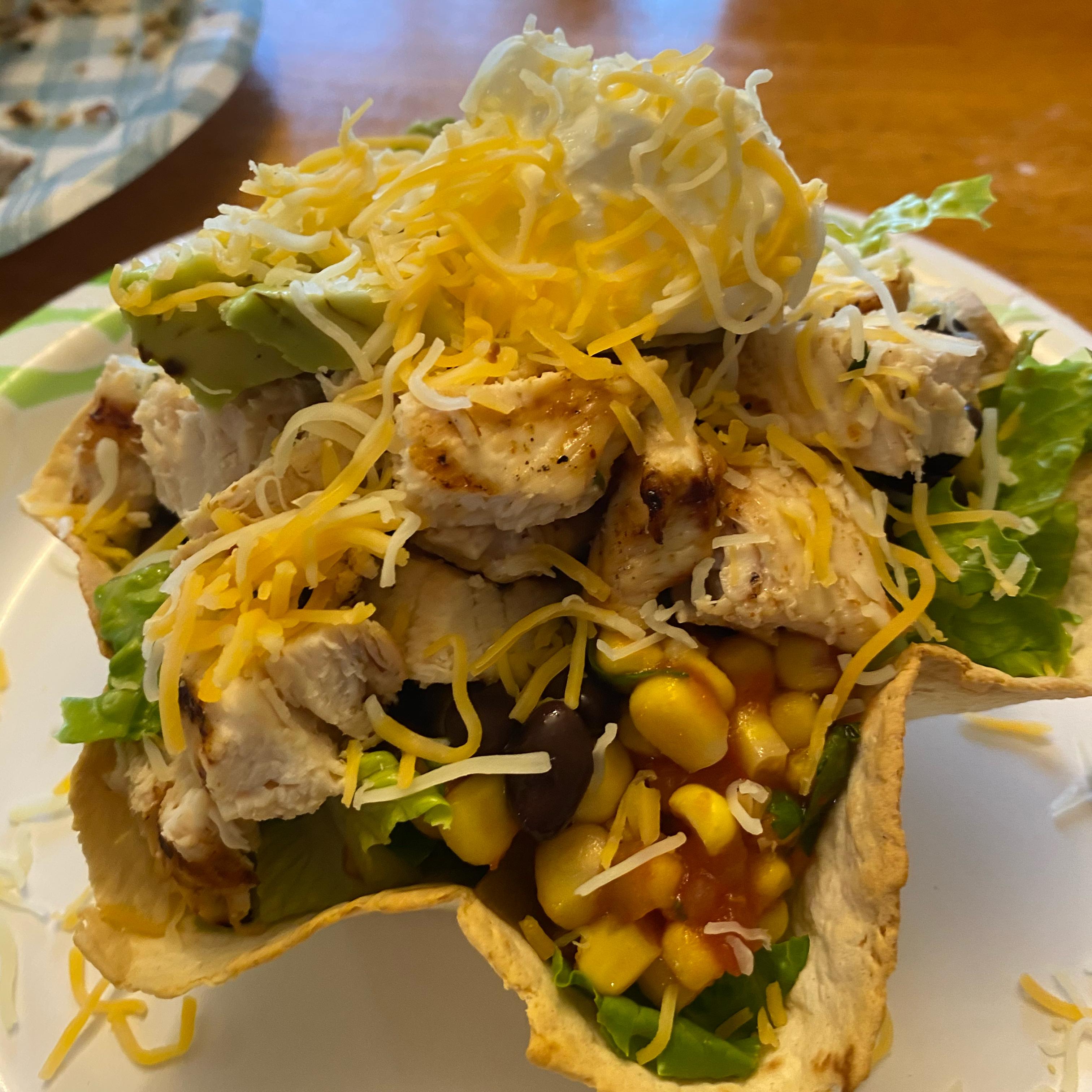 Grilled Chicken Taco Salad
