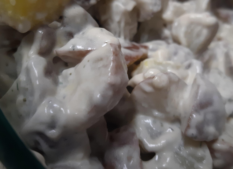 Mom's Dill Potato Salad Manda