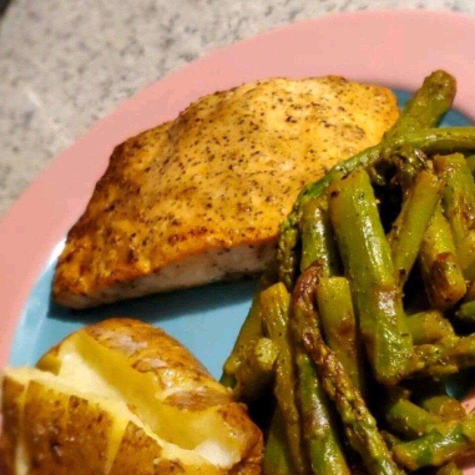 Chef John's Baked Lemon Pepper Salmon