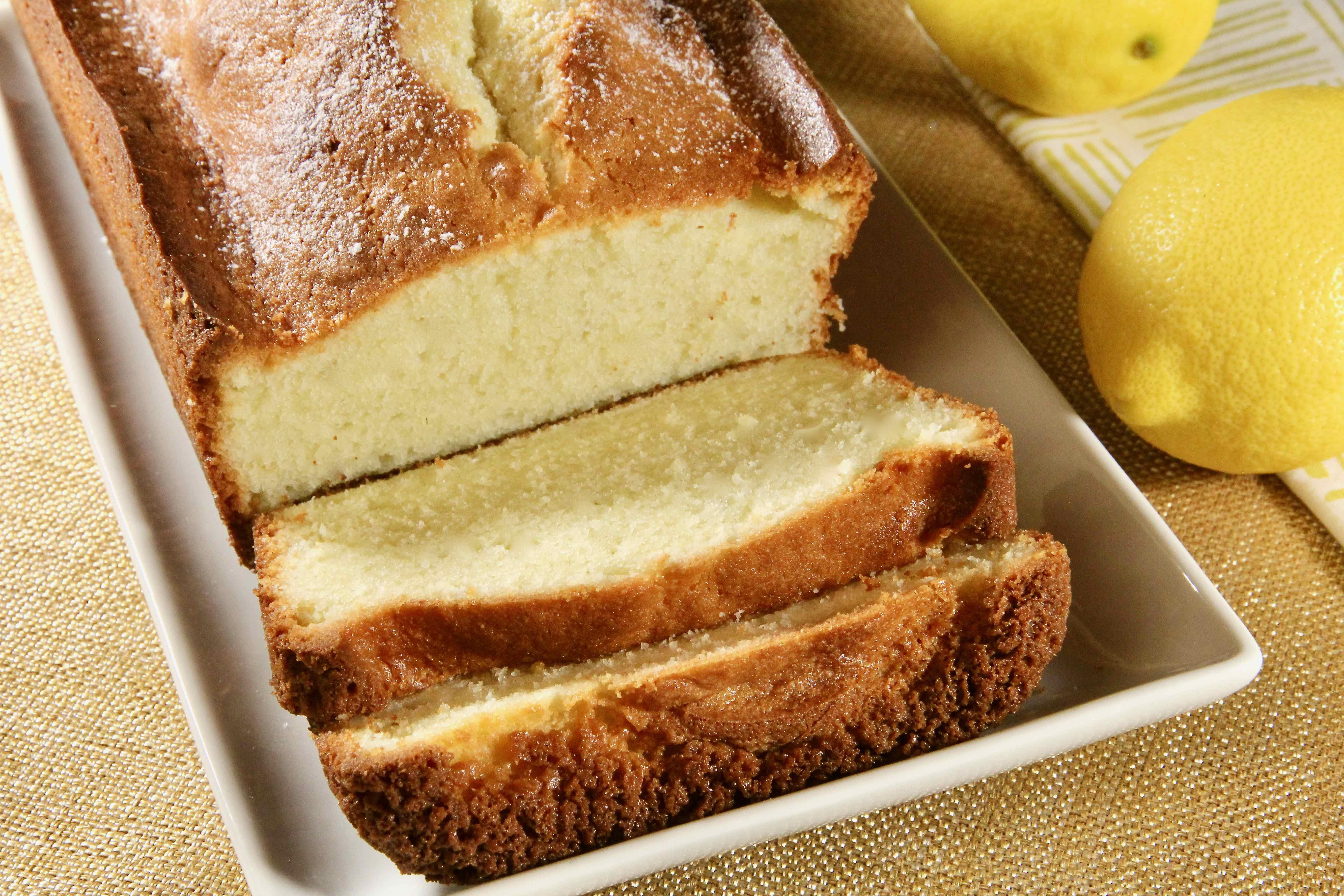 Sour Cream Lemon Pound Cake LillysMom