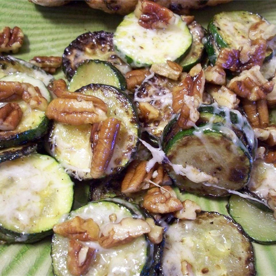 Zucchini and Pecan Saute Ingeborg