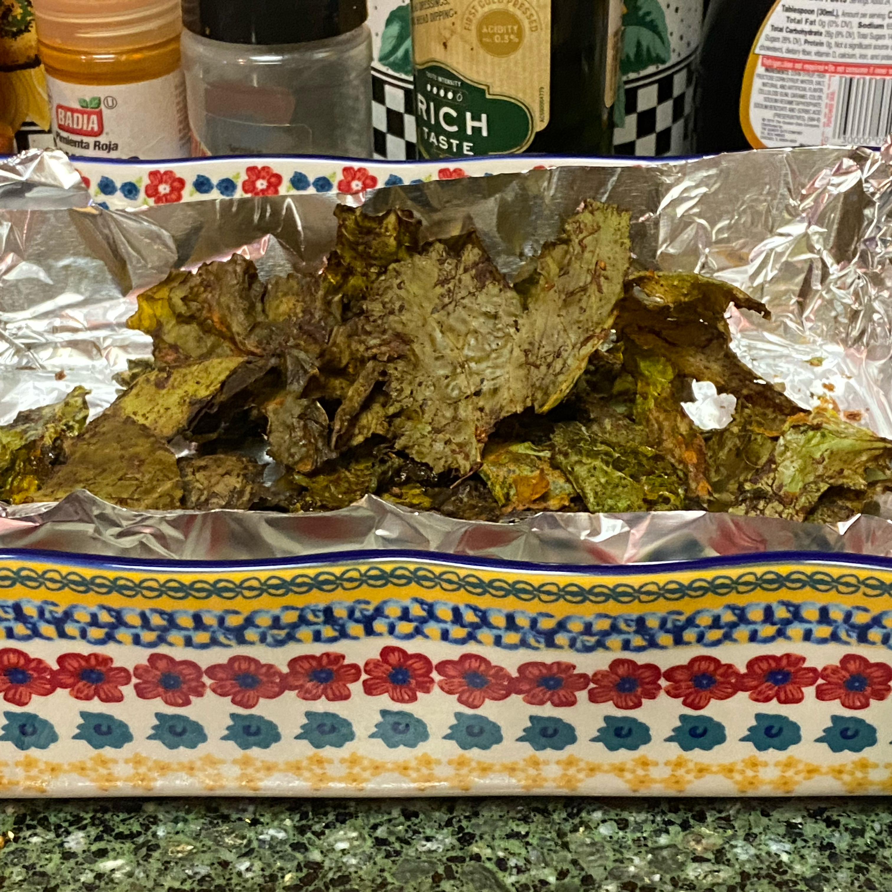 Air-Fried Kale Chips Patrick Cubel